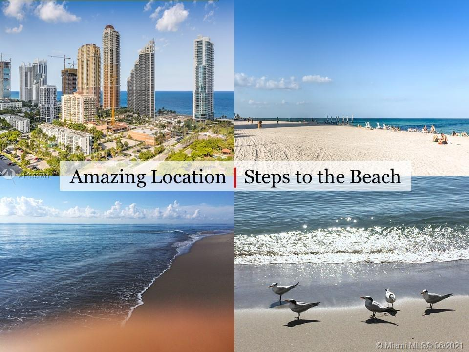 WOW! Stop Looking, This is Your New Home! Exceptional Location in the Heart of Desirable Sunny Isles