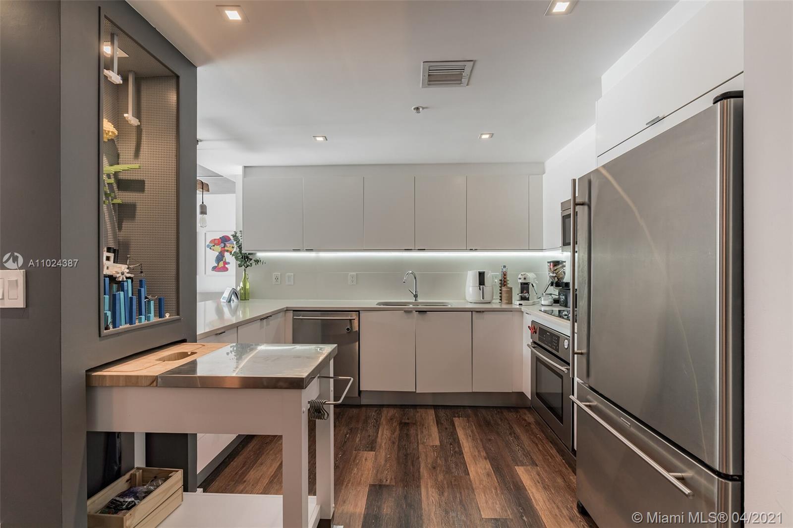 Location, location, location! Modern, stylish, & completely remodeled (custom made furniture) 2bed/