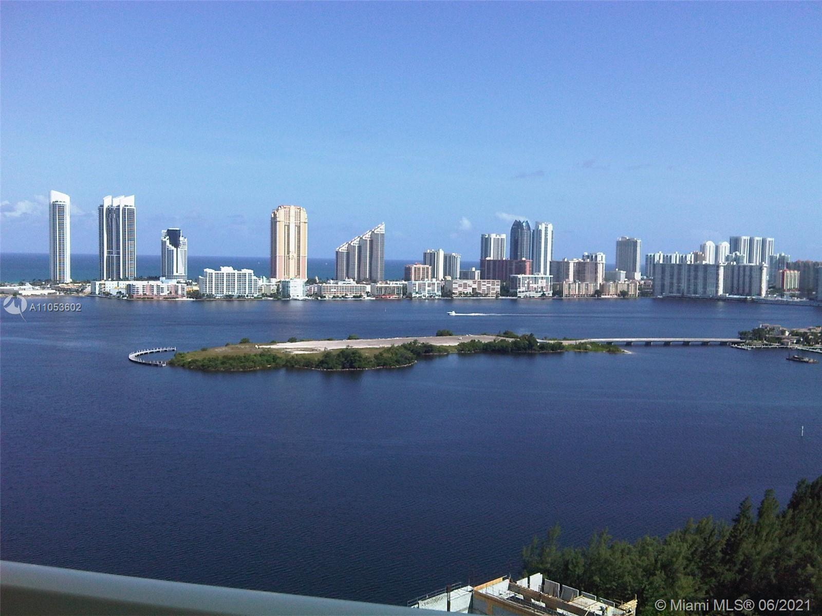 Aventura Marina Condo is a secluded enclave with water views, marina, biking and walking path. Avent