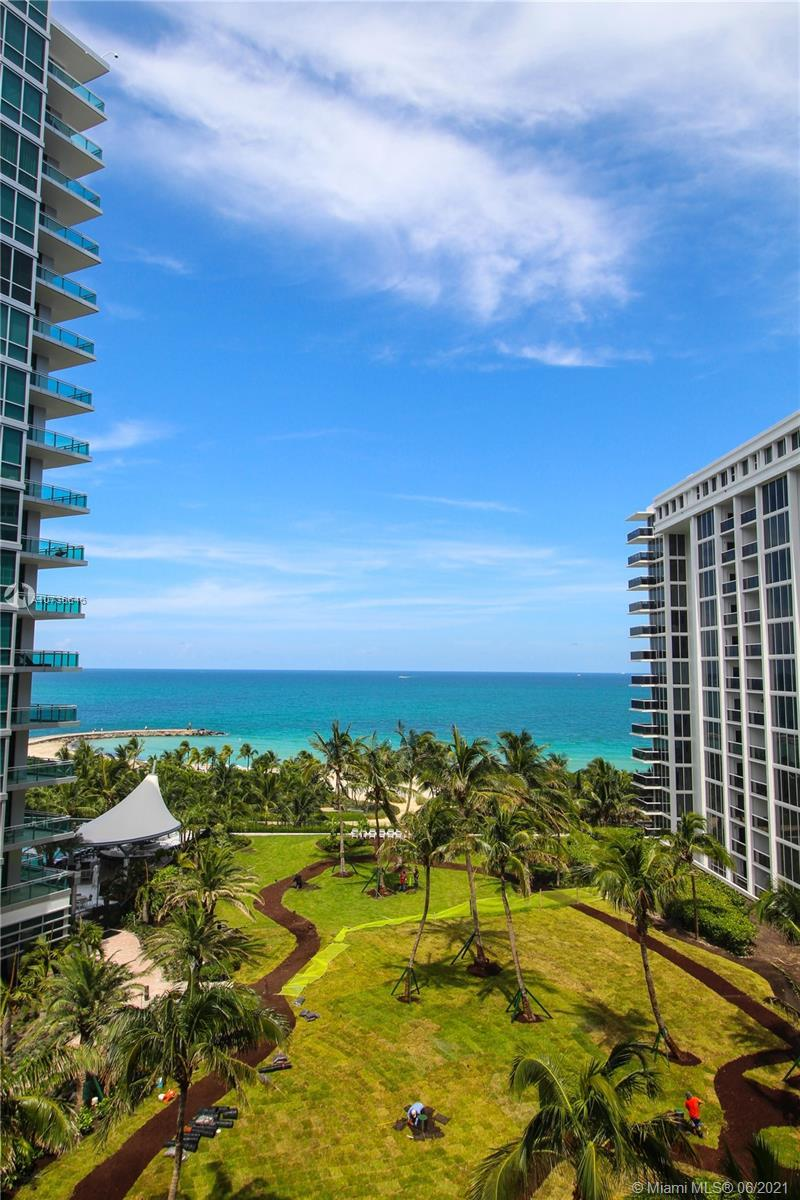Spectacular remodeled ocean front 2/2 with lots of custom built ins, stainless steel appliances, 2 p