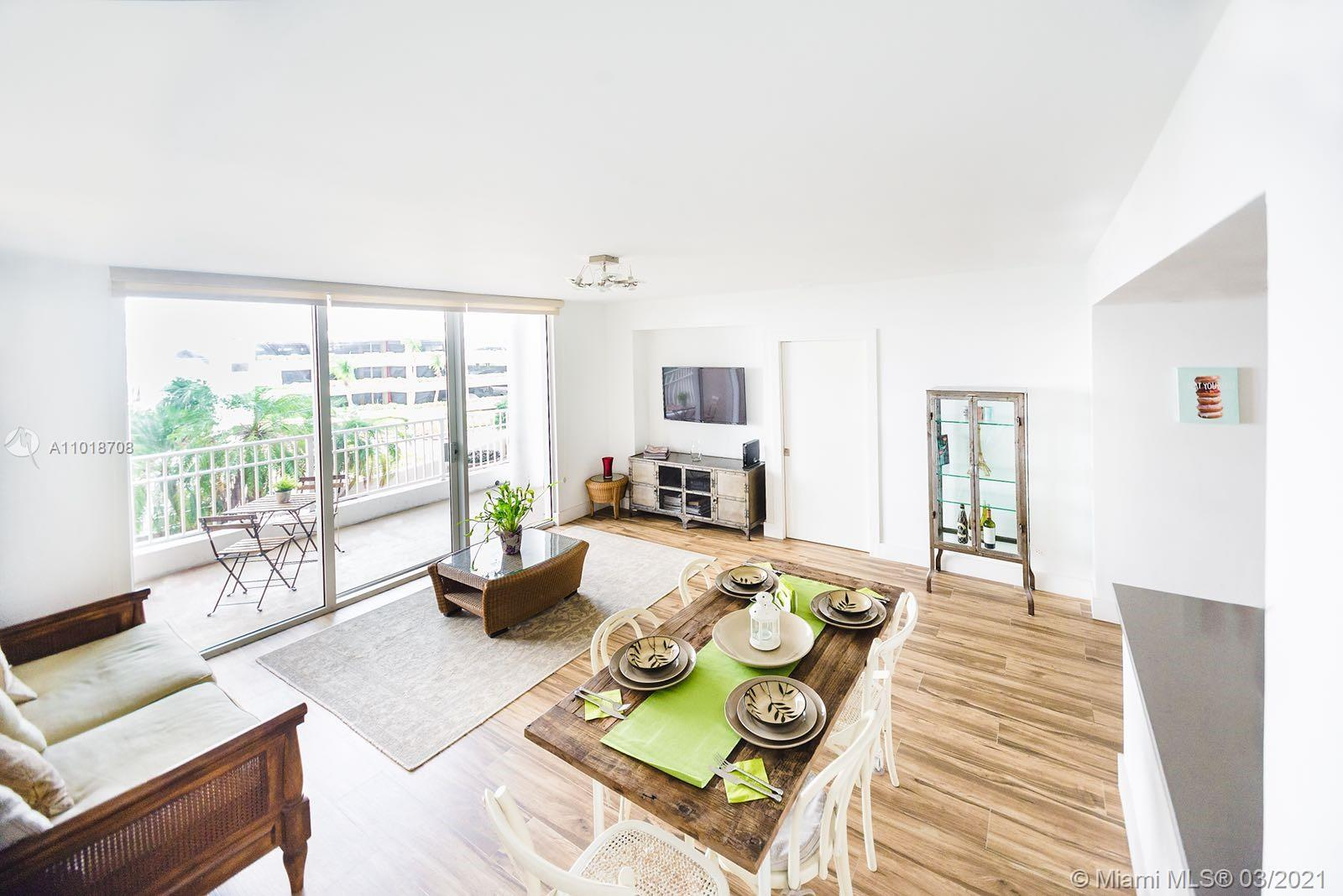 Live in the peaceful Brickell Key with everything this secluded island has to offer on this amazing