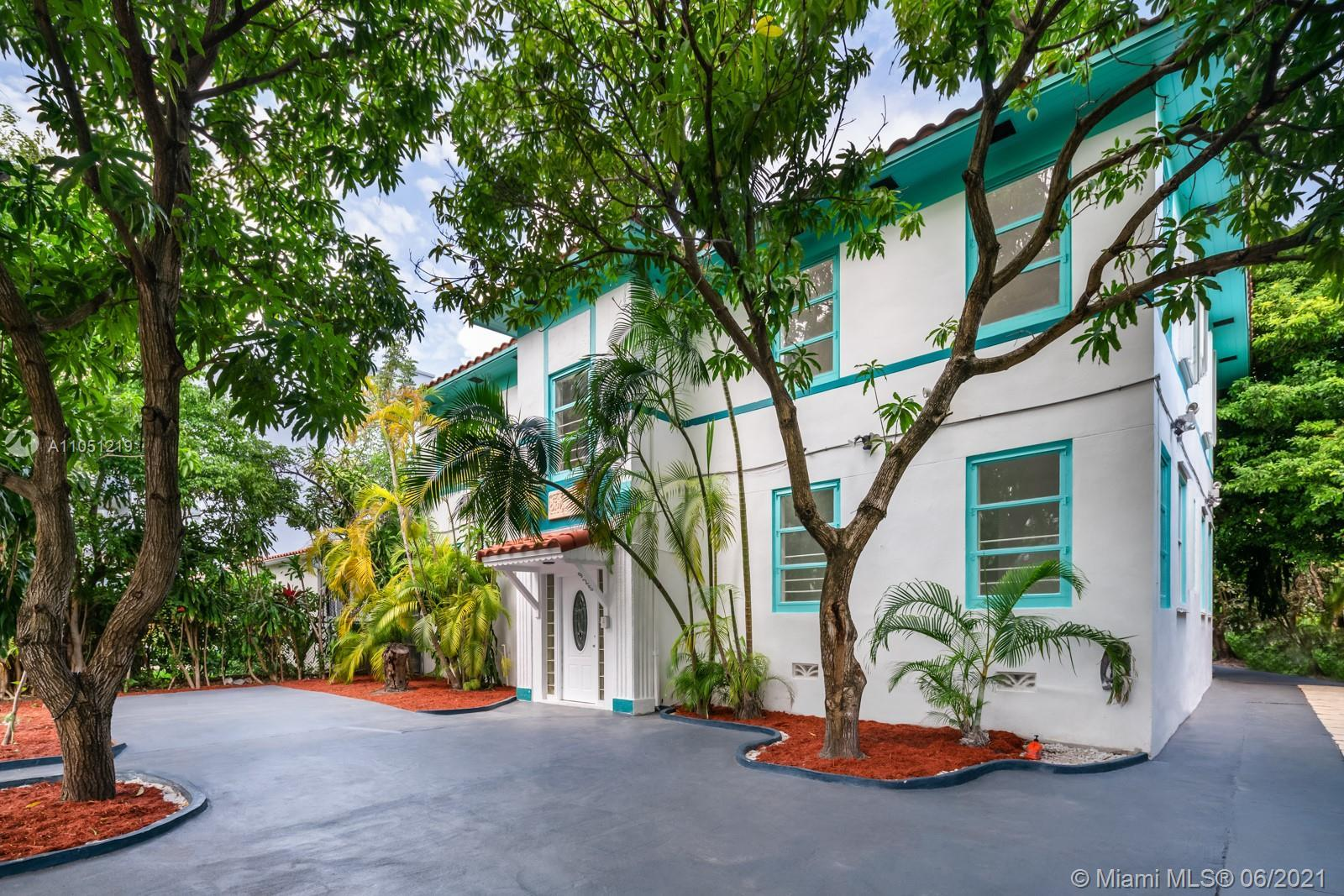 This exclusive Art-Deco inspired residence is a unique development opportunity in the heart of Miami