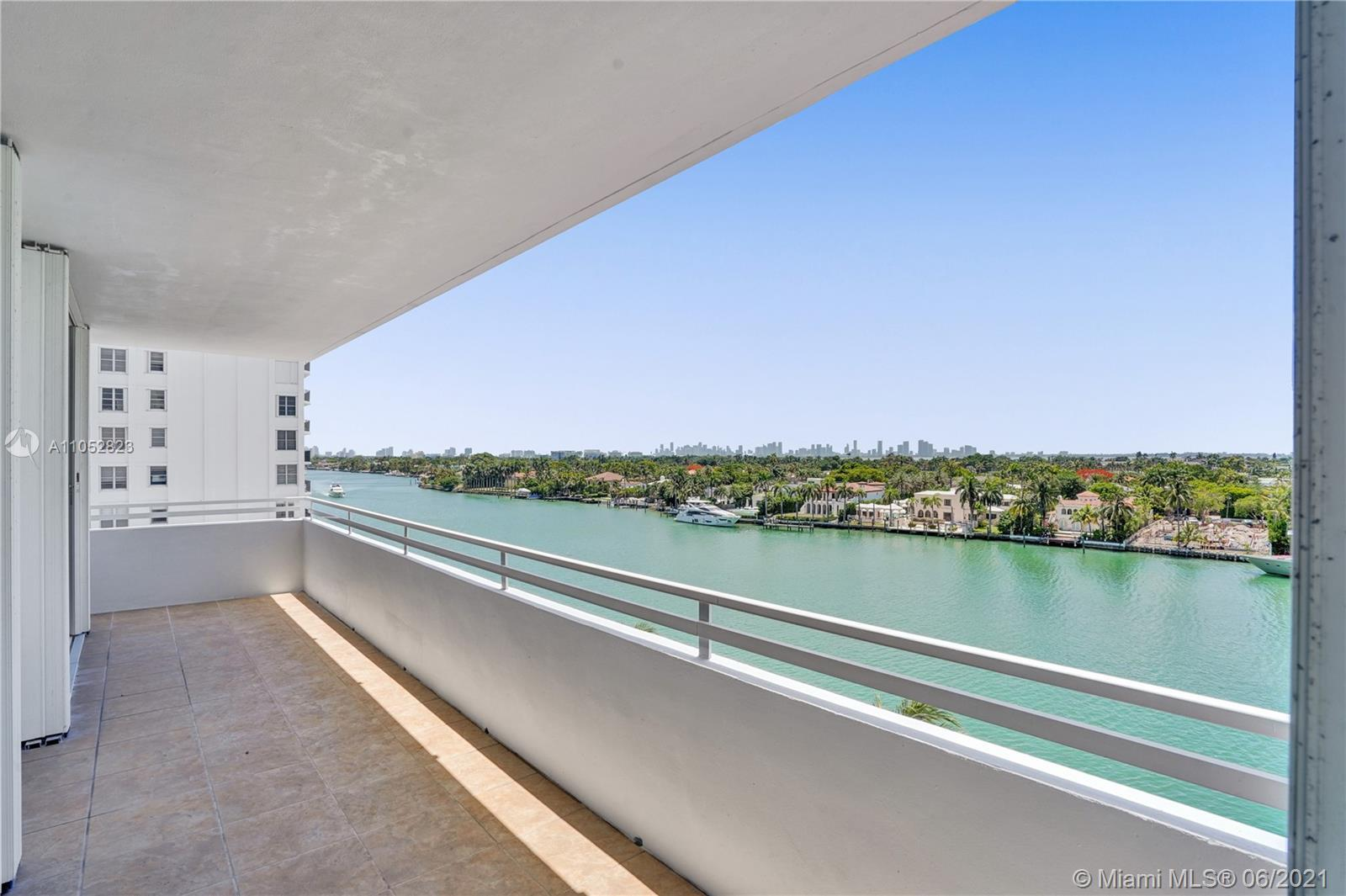 Stunning unobstructed intracoastal views from every room. This 2 bedroom, 2 bathroom, corner unit in
