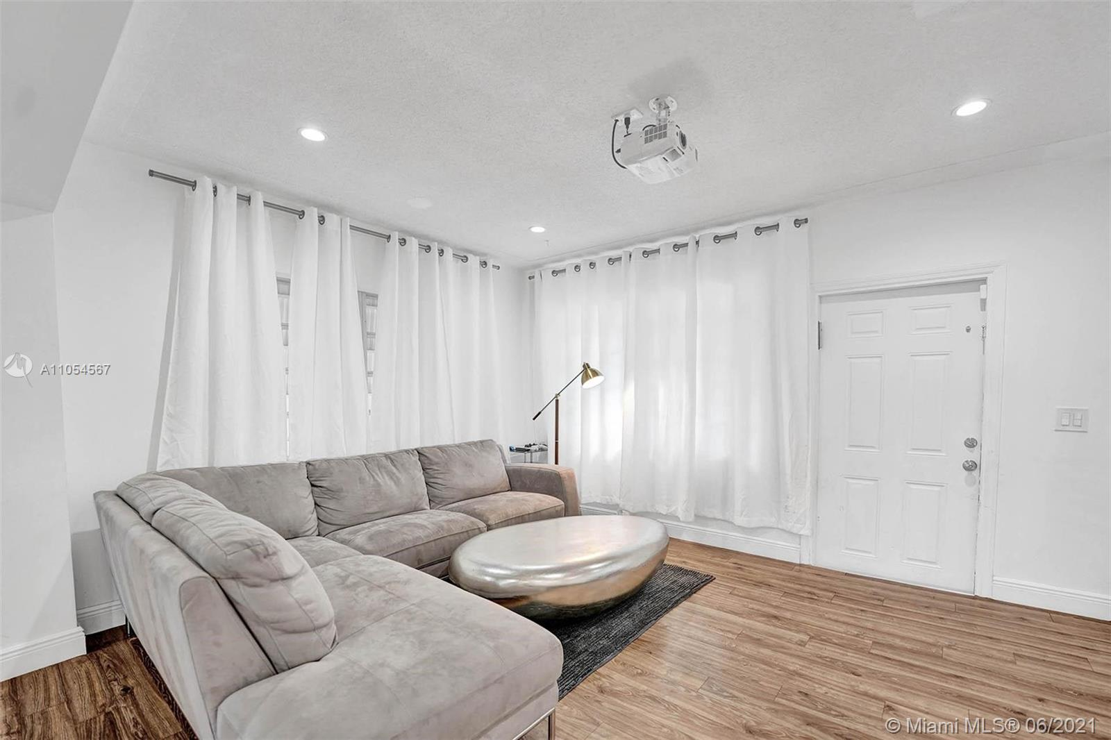 Beautiful two bedrooms and two baths with great potential to be made as 3/3. This home is completely