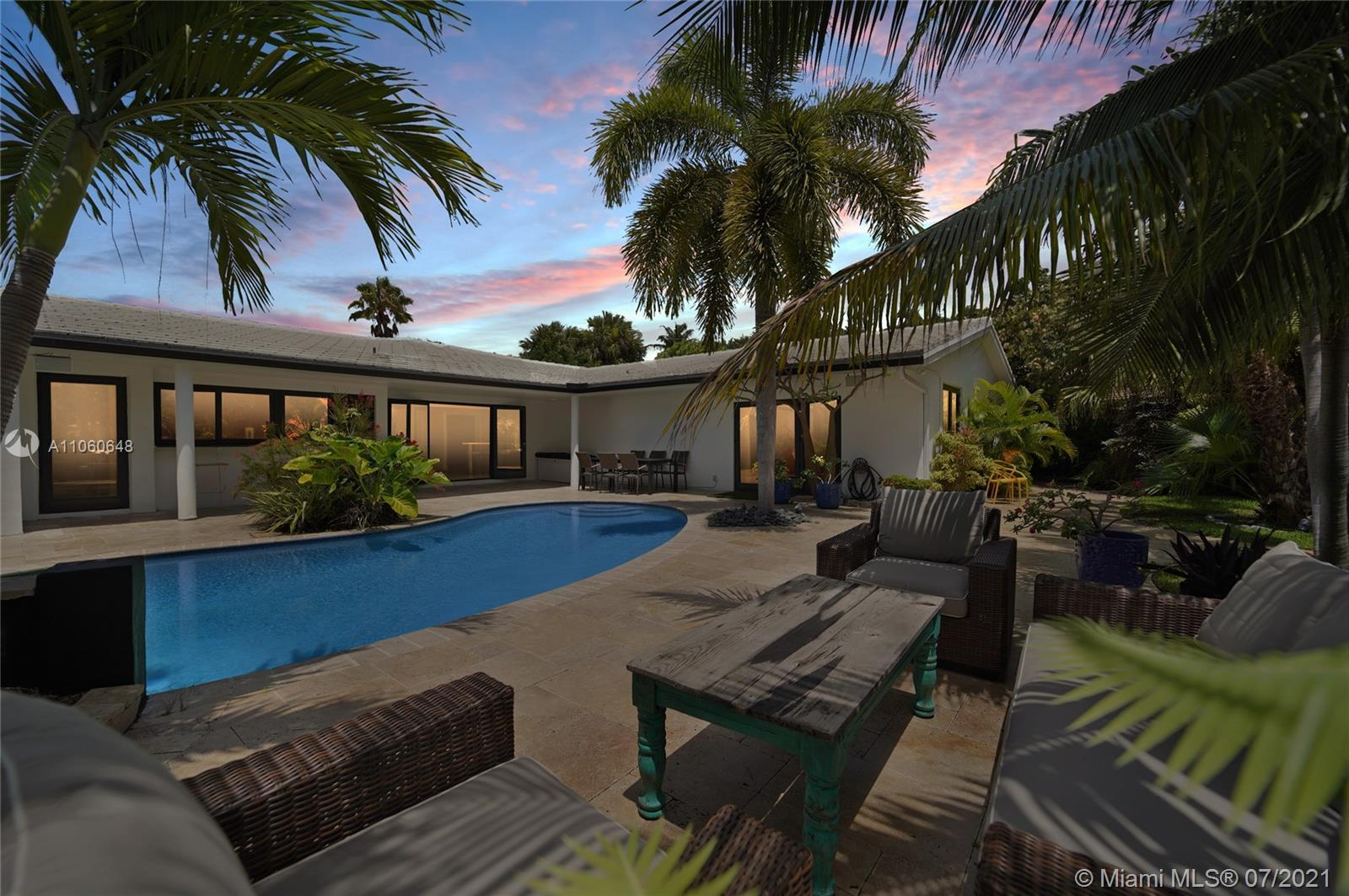 Opportunity knocks. Exquisite home on a large 16,000+ sf corner lot, 42ft dock; views on 165 ft wide