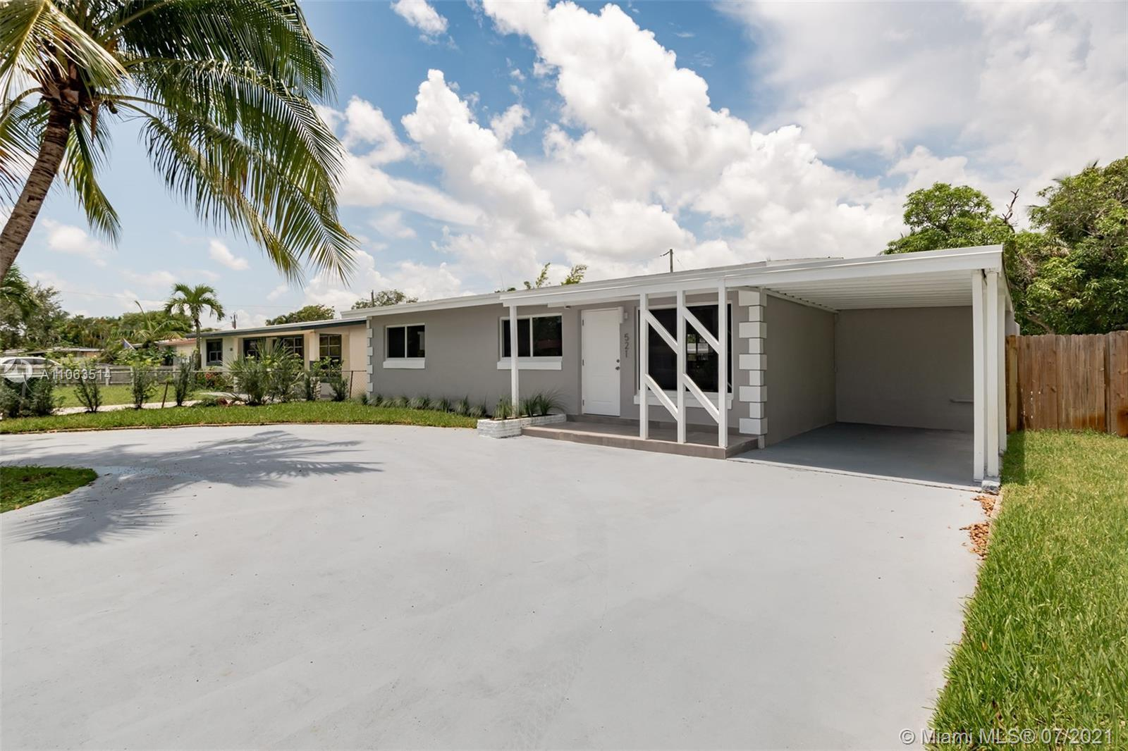 Fully Remodeled!!!High impact windows, new kitchen, new bathrooms and many more.  Huge patio with en