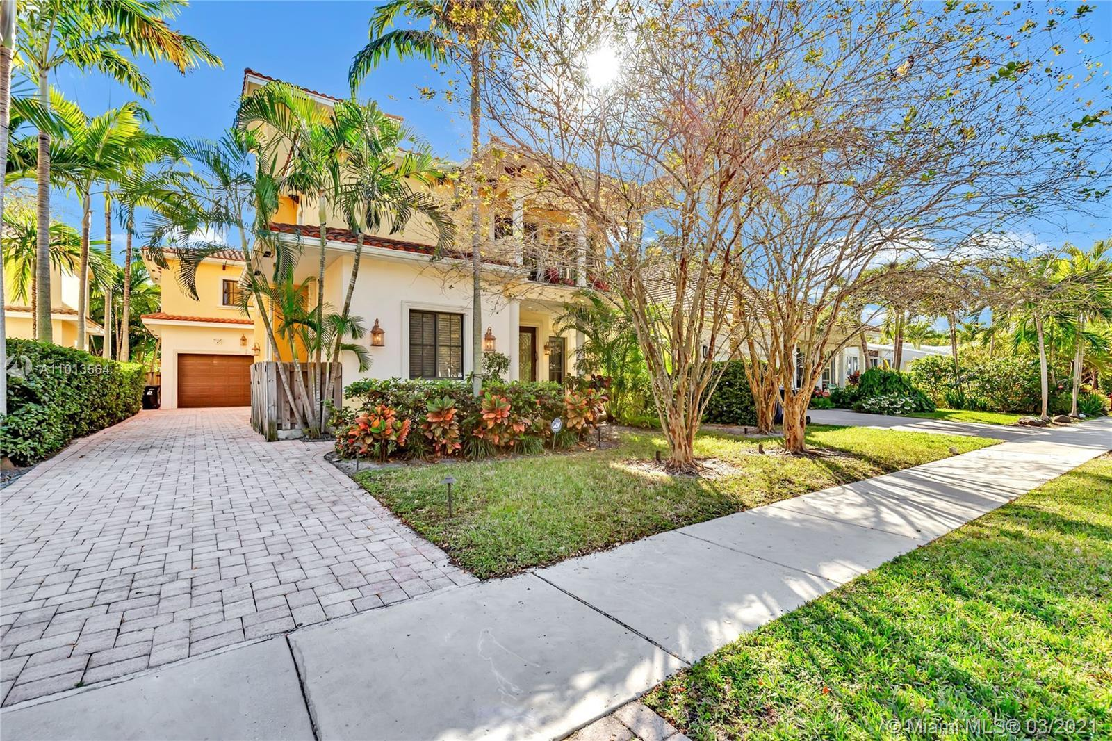 Gorgeous 4/4 pool home with European flair. No detail left untouched with a great location in presti