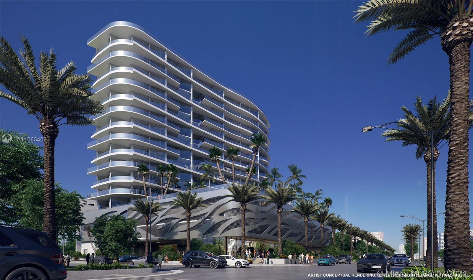 Aurora is a pre-construction boutique, luxury building located in the heart of Sunny Isles Beach, ac