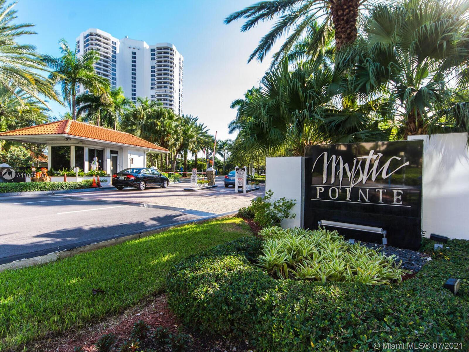 MOST DESIRABLE 2 BD 2.5 BA LINE IN MYSTIC POINTE TOWER 500. PANORAMIC VIEWS OF THE INTRACOASTAL WATE