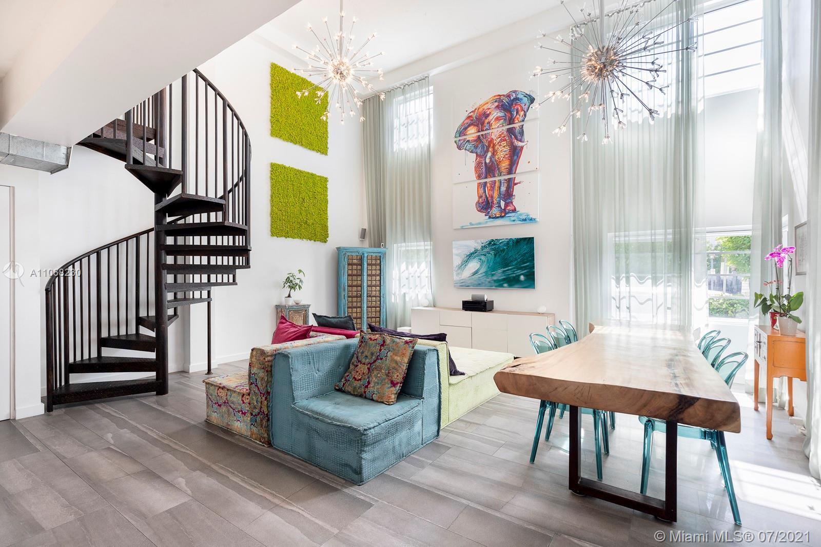 Situated in the heart of South Beach, this 3 BD/3 BA unit is located in The Montclair - a 5-story, b