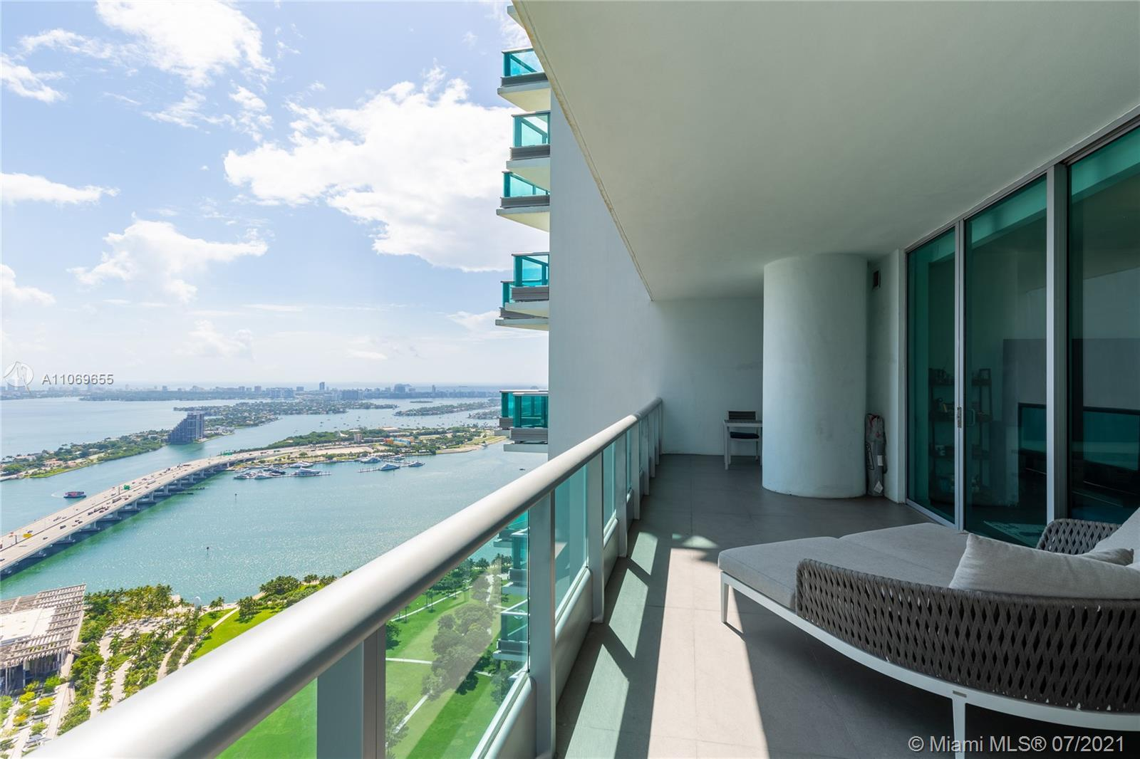 Your direct water view awaits, 2-bedroom+Den w/3 full bathrooms with a private elevator that opens t
