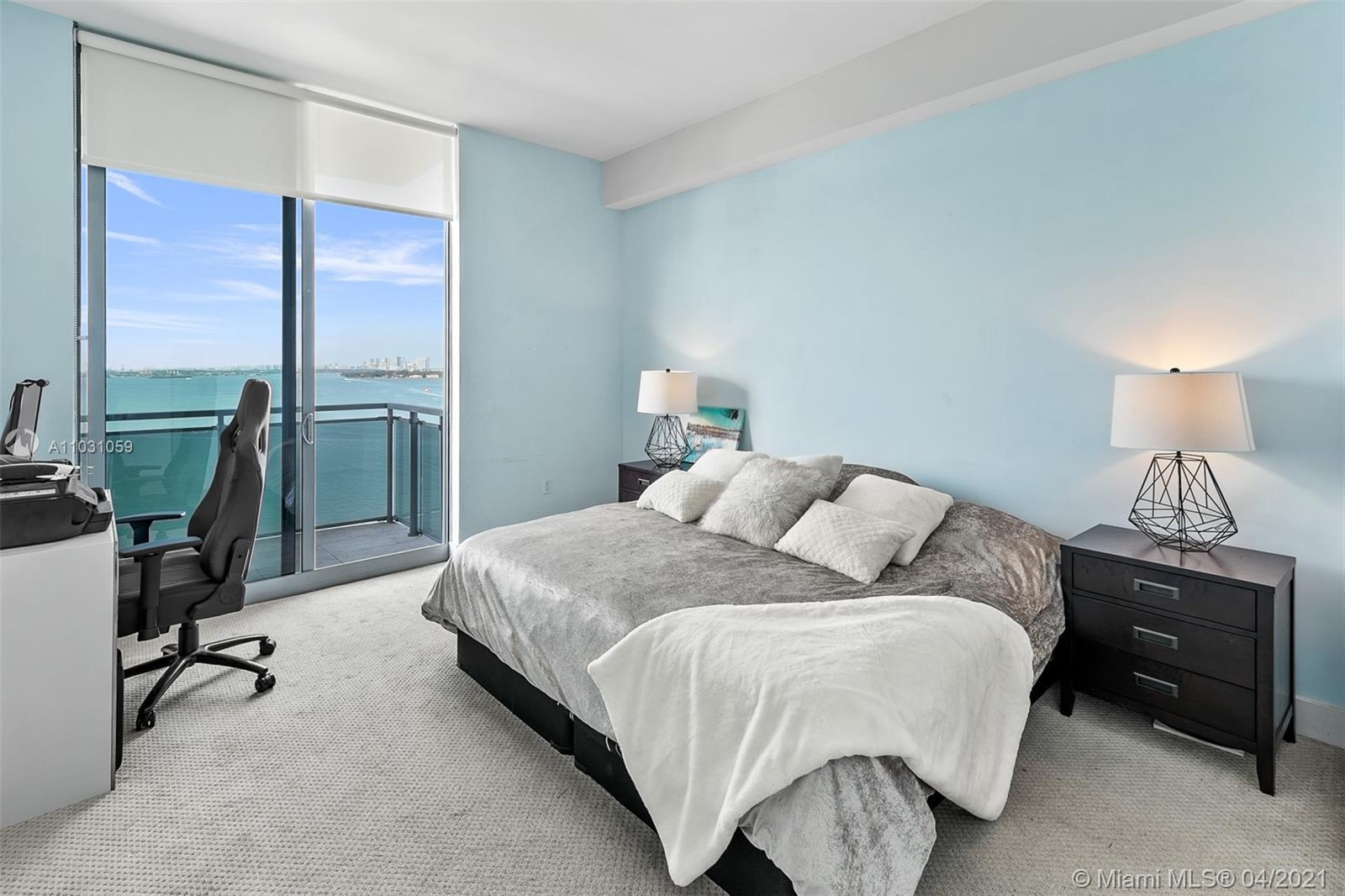 Amazing unit with incredible view!! 1707 at The Lexi in North Bay Village has it all.  1735 sq ft, t