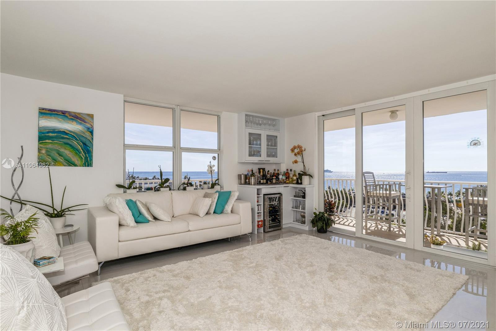 CALL TODAY!!! Pristine remodeled 2BR/2BTH unit is OCEAN facing and just STEPS away from the beach! T