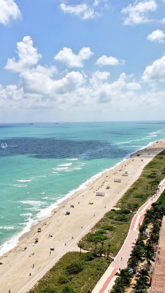 Amazing unit with ocean view. 2 bed + 2.5 baths. Corner unit with private balconies. Full beach and