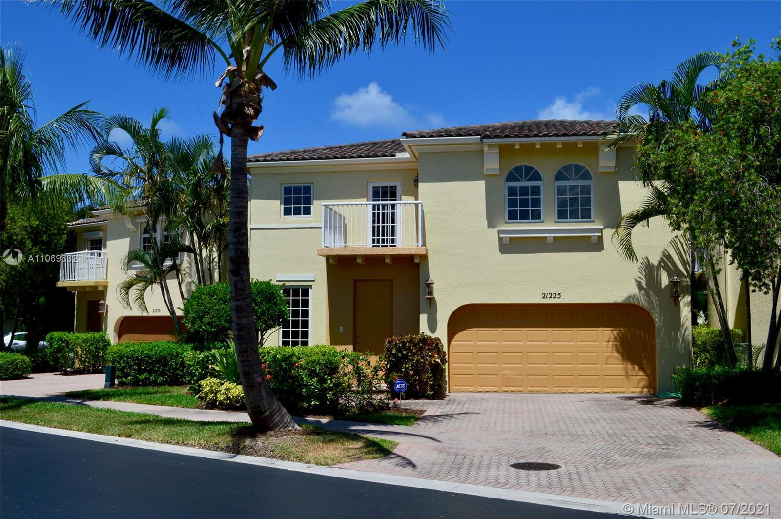 Upgraded 3/2.5 in desirable Aventura Lakes! Custom upgrades in bathrooms, modern finishes and very p