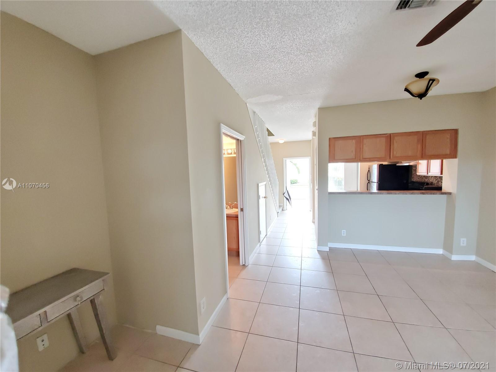 Ideal investors! Leased at $1,450 until November 2021.  Bright and spacious 2 stories townhome. 2 be