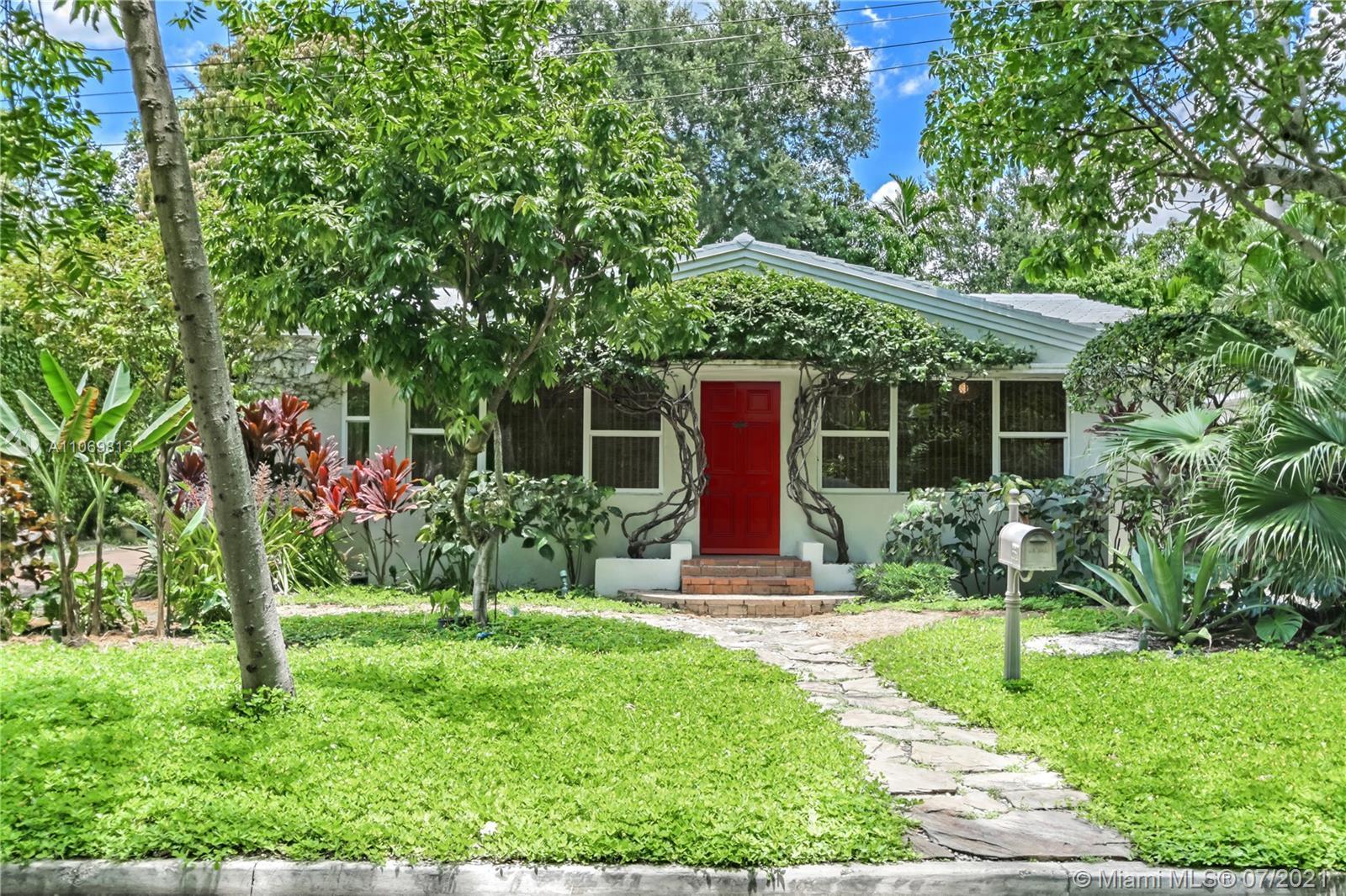 A Hidden Paradise!  Enter the house through an inviting Florida Room and step into a home where ever