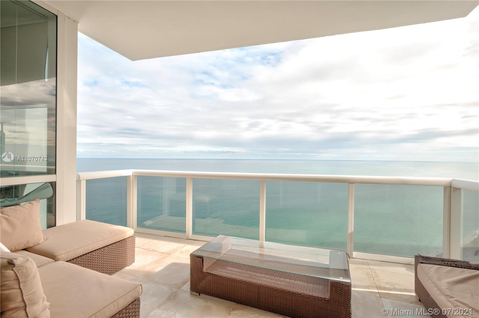 Beautiful oceanfront unit. 3 bedroom 3.5 bath in Trump Palace amazing beach club, 4 pools, tennis co