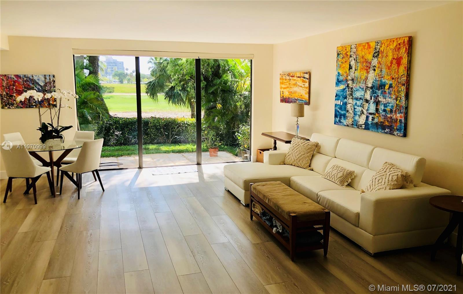 Aventura's best kept secret. Beautifully redesigned and renovated 3 bedroom plus extra room that can
