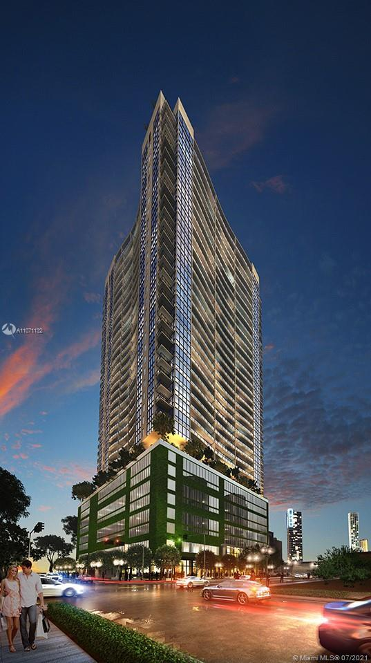Fabulous 1 bedroom plus den apartment at Canvas with an open living floor plan.  Live right in the h