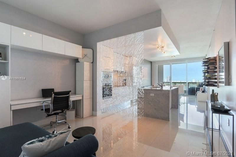 Welcome to this stunning unit featuring breathtaking views.  This one bedroom two bathroom plus den