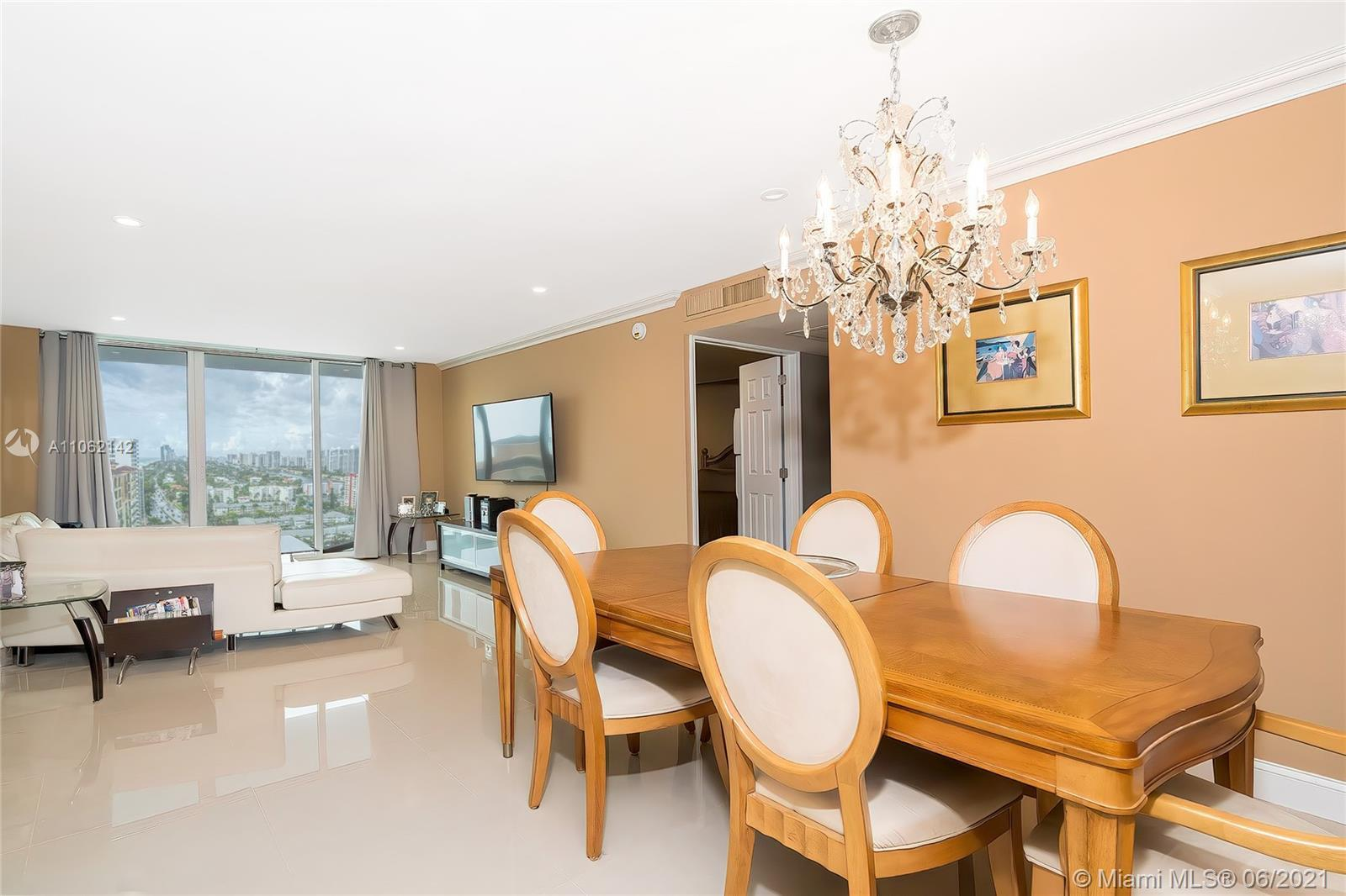 What an amazing view from the turn key renovated 2/2 oceanfront penthouse in full service luxury Par