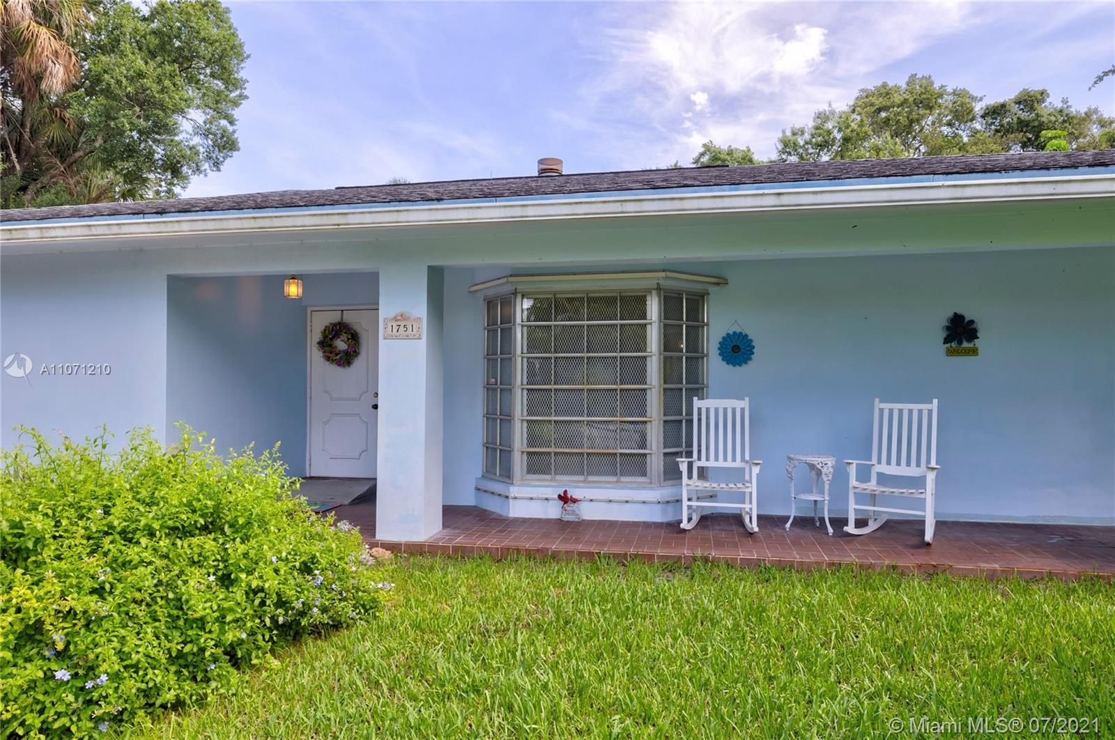 Located in EDGEWOOD by Marina Mile in East Ft Lauderdale this ranch style home is on a quiet cul de