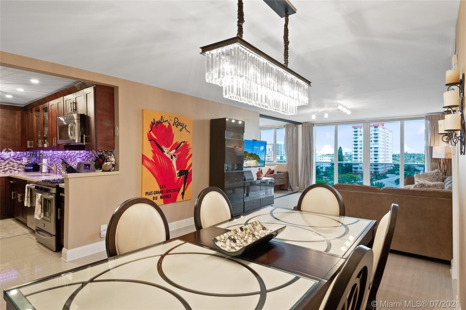 Tastefully renovated 2 bedroom 2 bath condo in highly sought after Parker Tower.  Improvements inclu