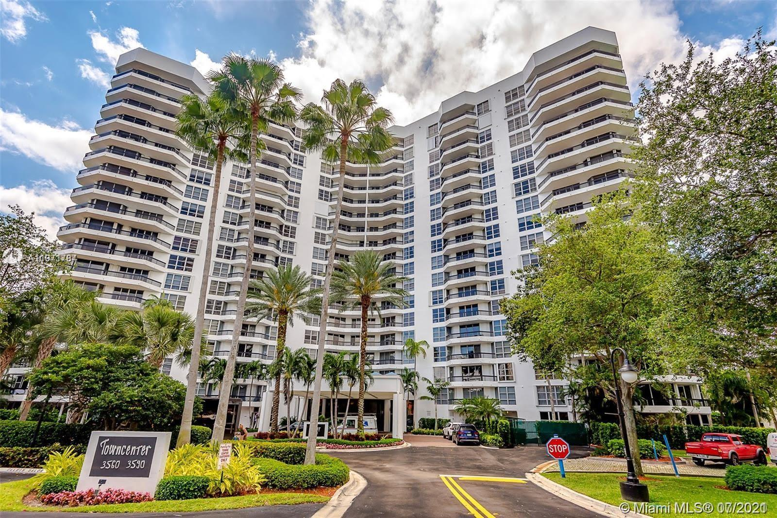 Truly beautiful condo in the heart of Aventura prime sought after location. Spacious open floor plan