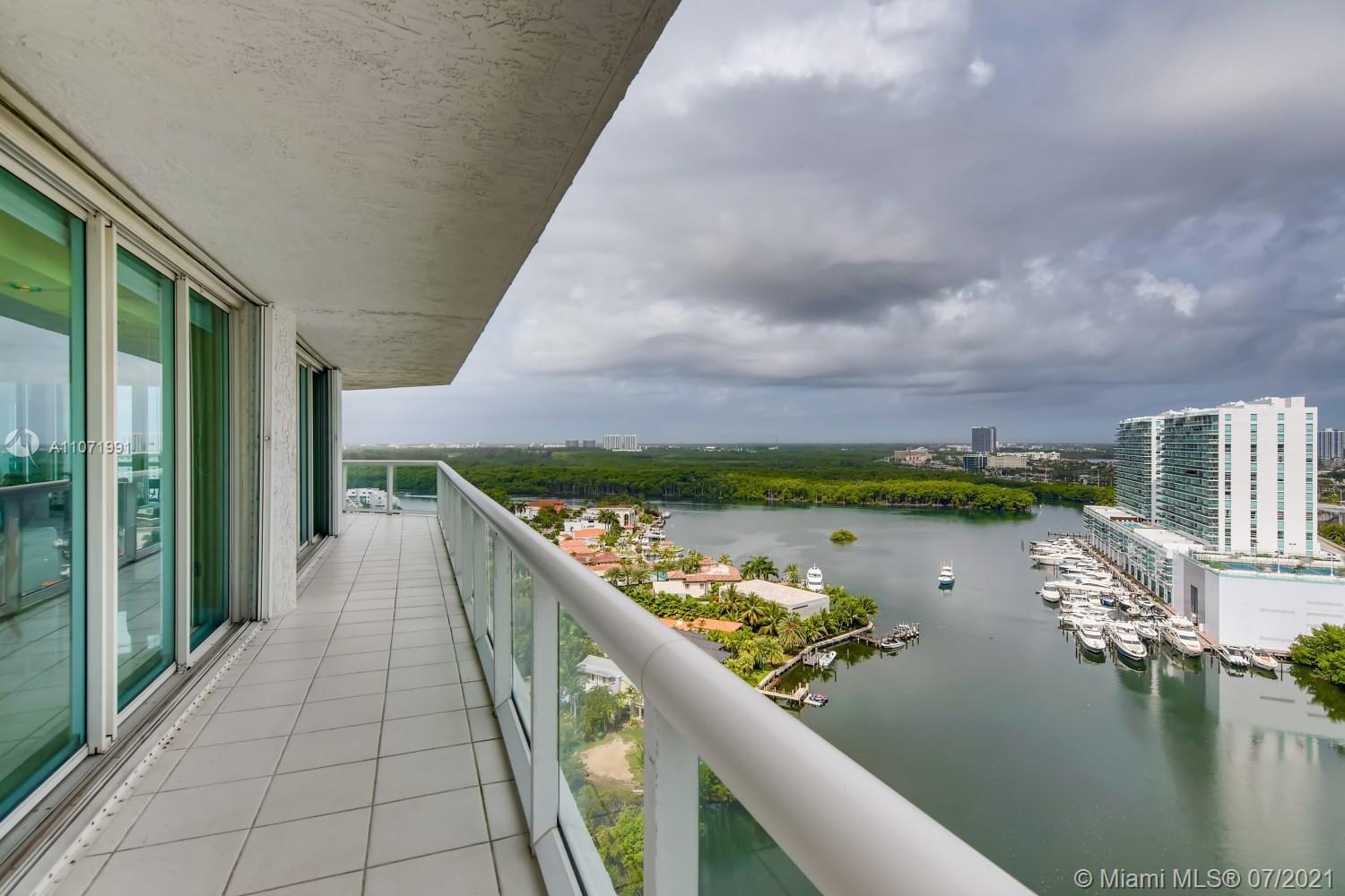 Luxury living with some of the best views in town! The entry, living area, and dining area have marb