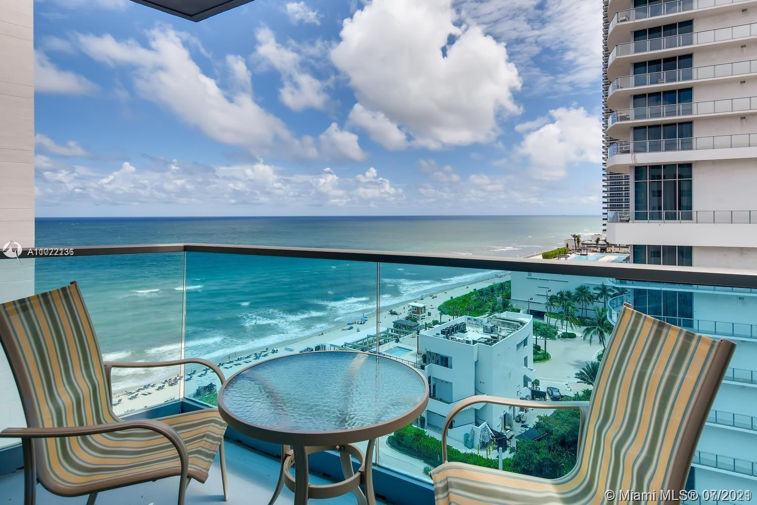 Attention Investors: Turnkey, fully furnished 2 bedroom, 2 bathroom oceanfront condo in Hollywood Be