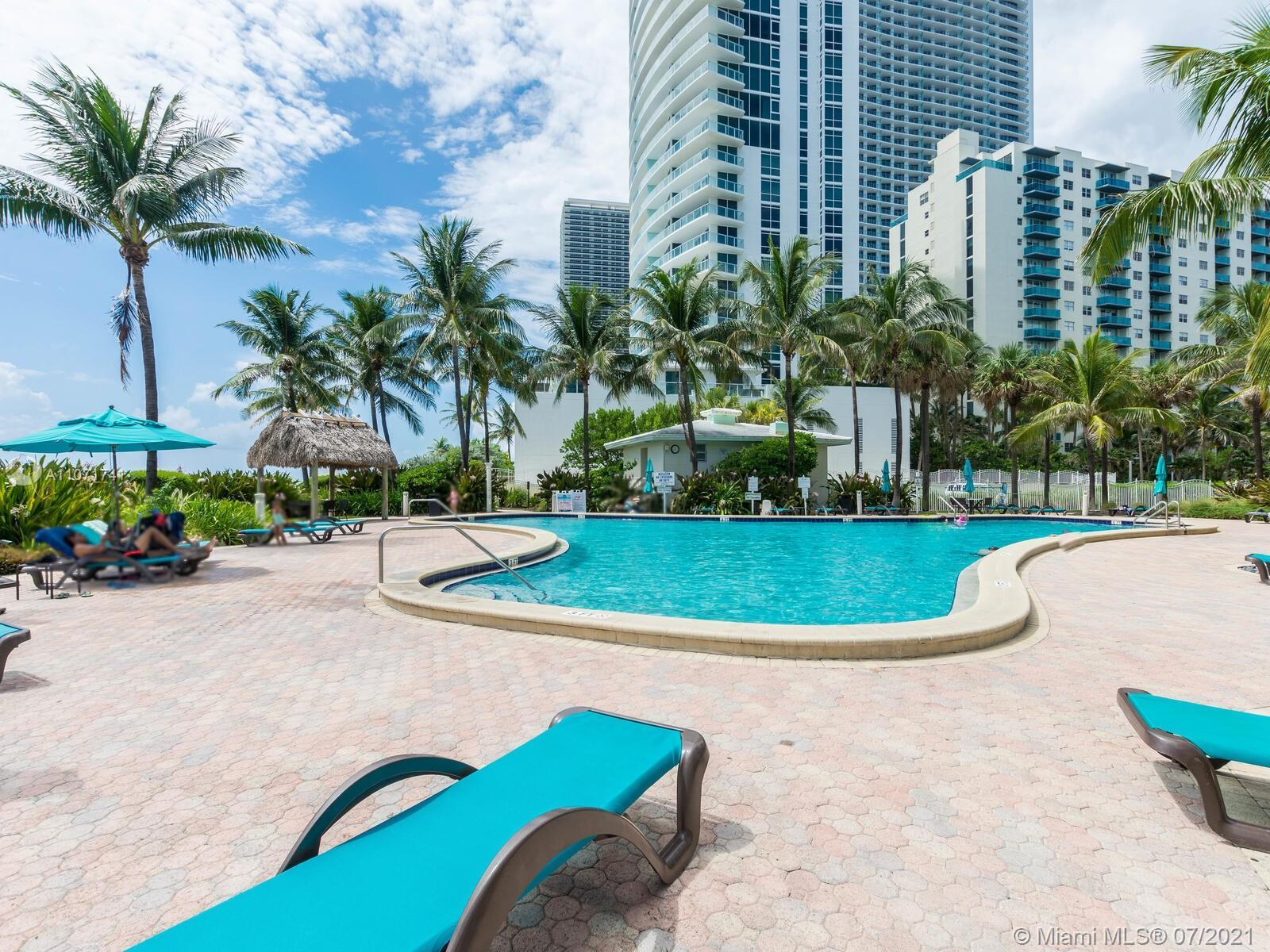 Get ready to escape to the best building on the sand in Hollywood Beach. This condo is waiting for y