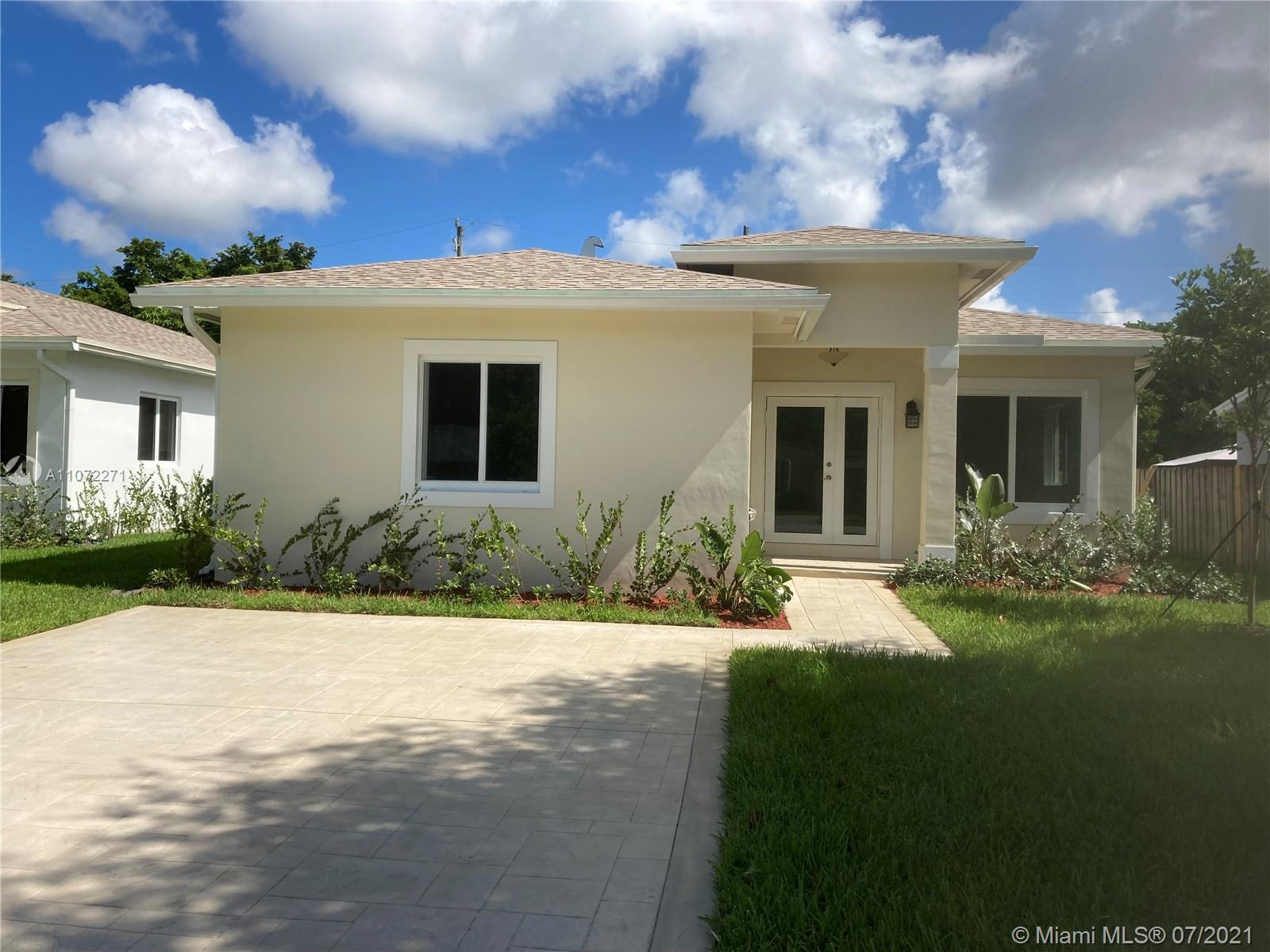 Three Newly built Beautiful modern single family home side by side with 3 bedroom , master bedroom a