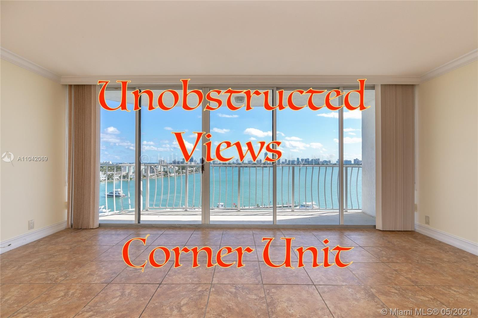 Best Corner unit available in the Building. Stunning waterfront condo. Don't miss these amazing wate