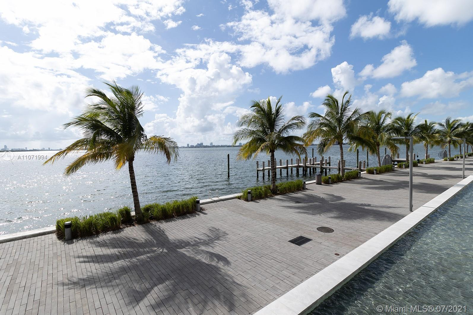 Absolutely the best corner with the most spectacular & endless views of Miami beach, Biscayne Bay &