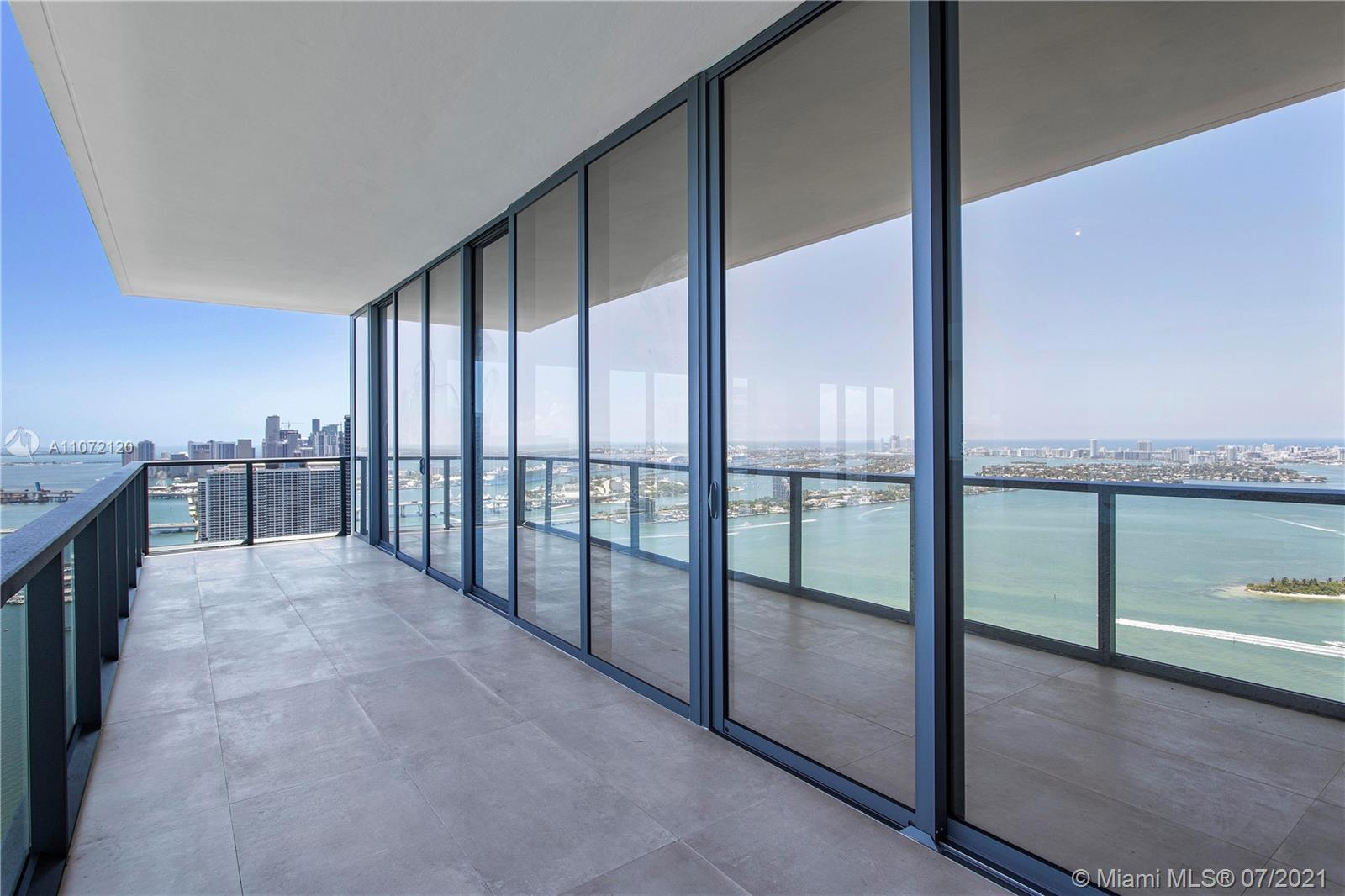Stunning 3B/3.5b unit at Elysee, the first luxury boutique building in Edgewater. Enormous living ro