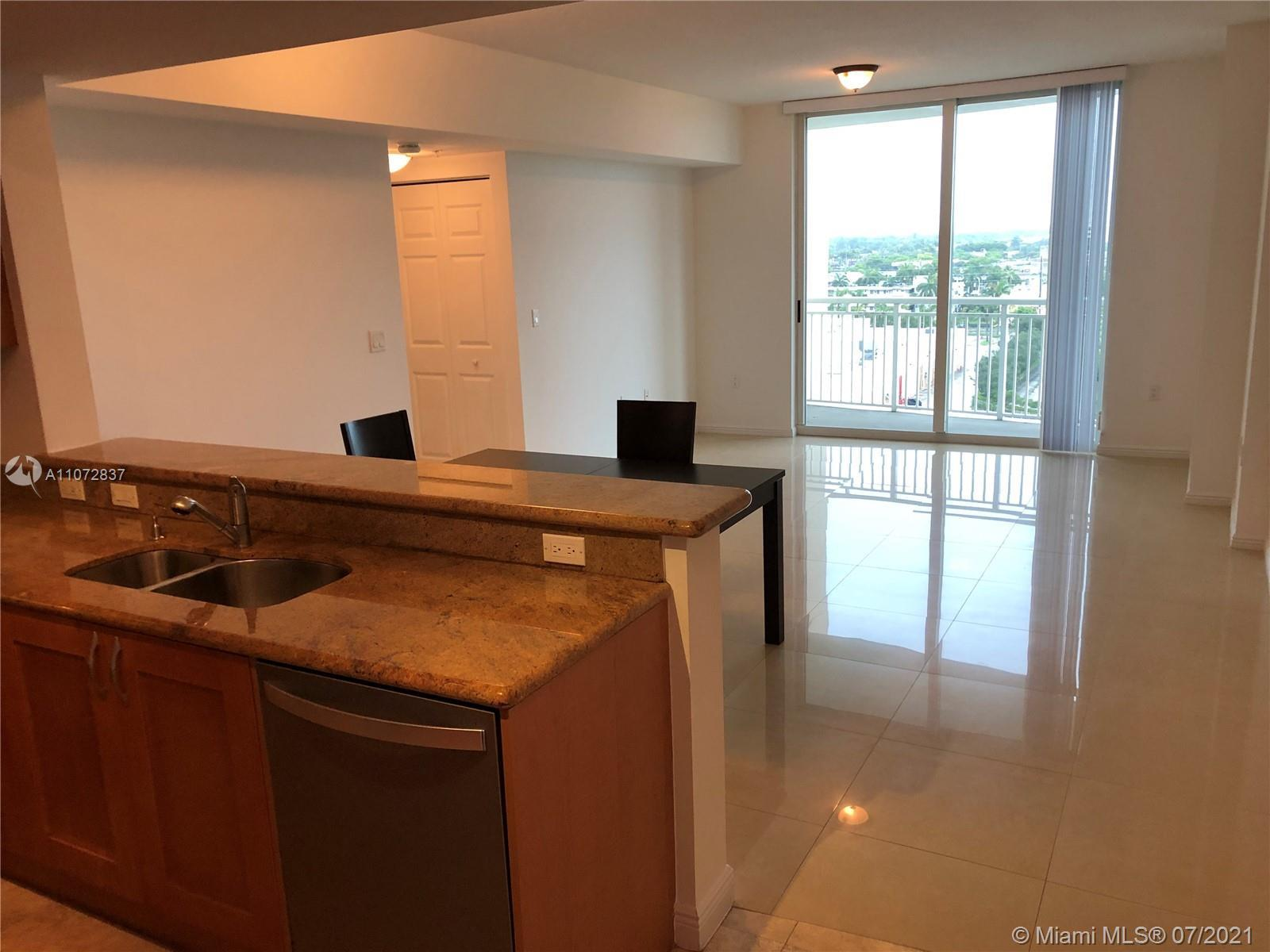 Beautiful Condo in the heart of Hallandale Beach. Apartment has been freshly painted, Tile floors th
