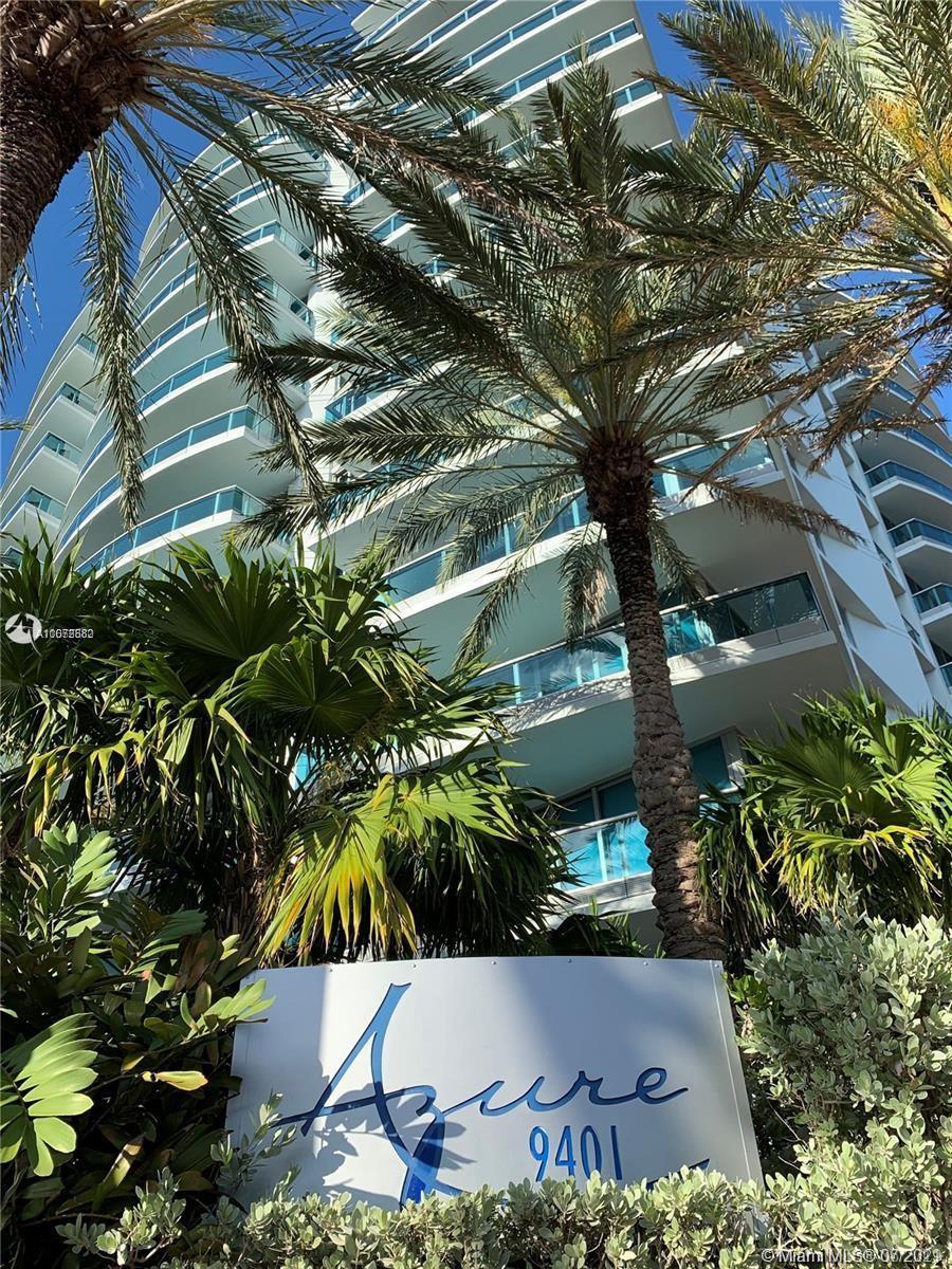 Beautiful unit in Surfside, in the exclusive oceanfront boutique building Azure. 2 bedrooms, 2 baths