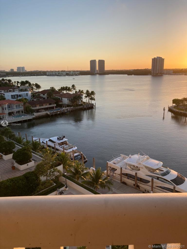 HIGH FLOOR! WATER VIEW! Stunning updated spacious unit with Double Balconies on north and south side