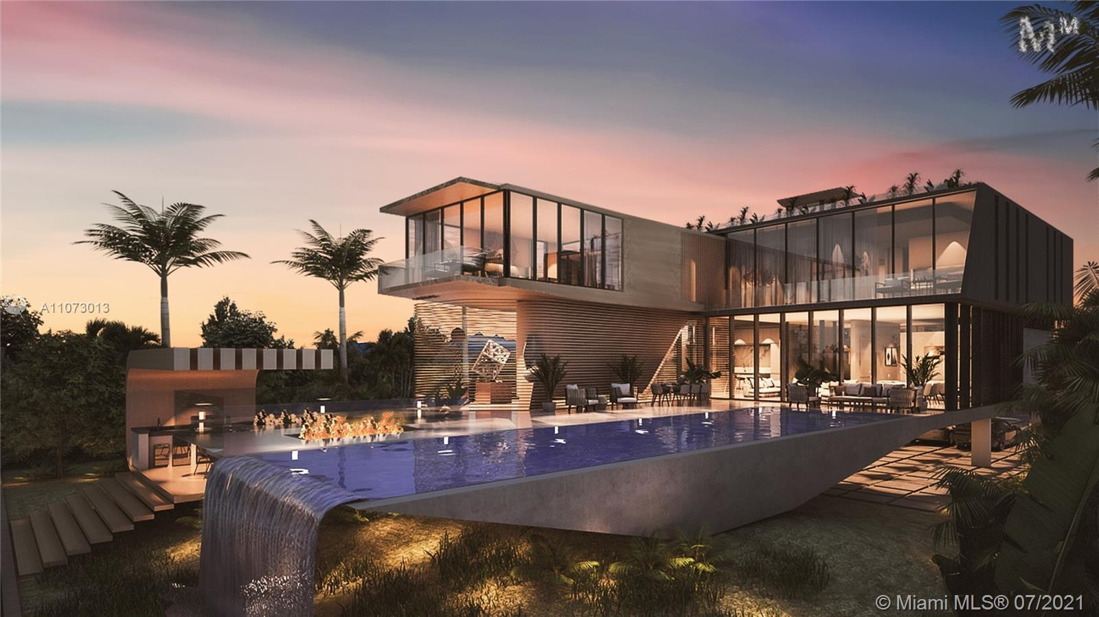 Introducing Miami Beach's most innovative tri-level masterpiece by architect Juan Azulay (trained w/