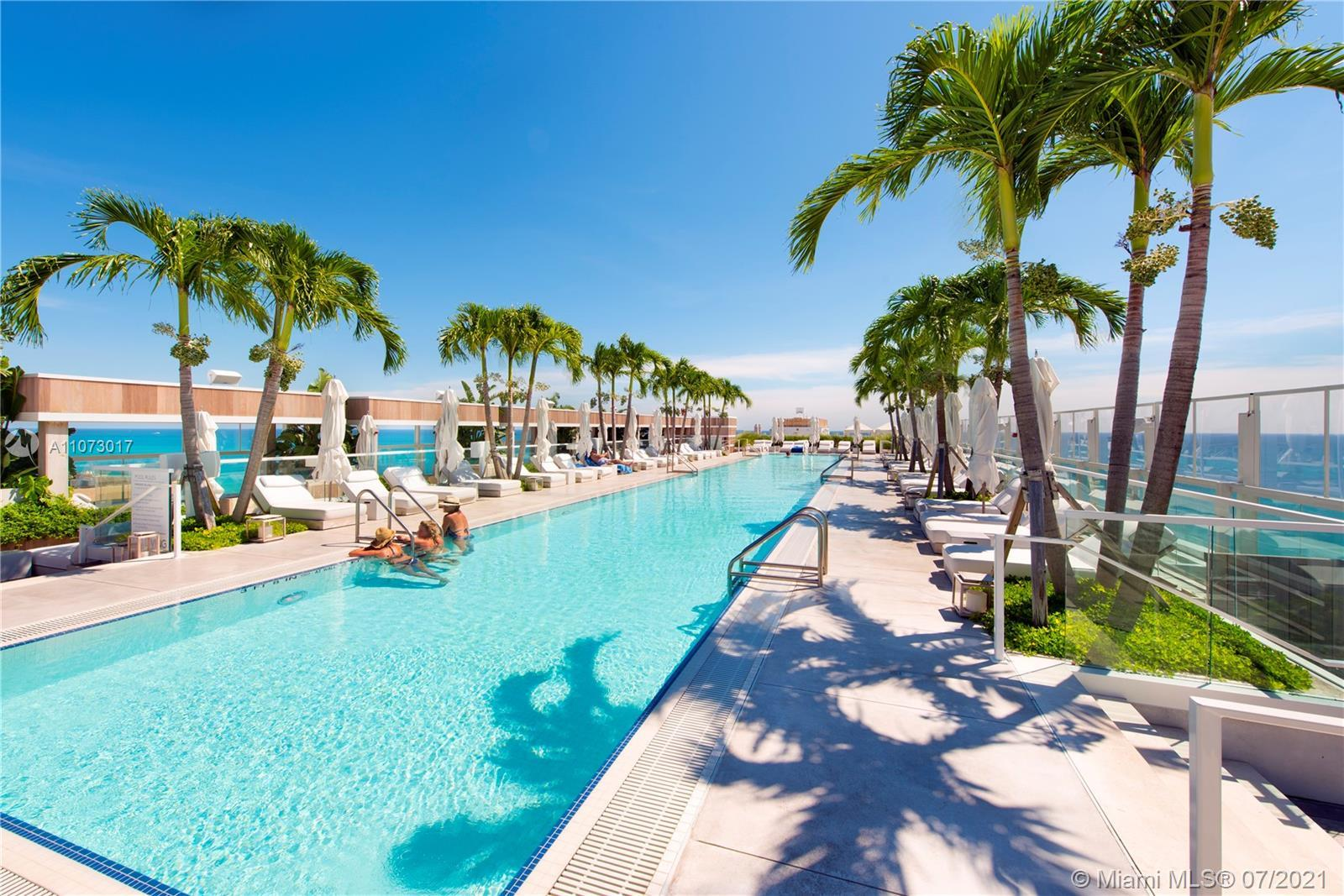 JUST REDUCED...Beautiful direct ocean view residence at the new 1 Hotel & Homes in South Beach. This