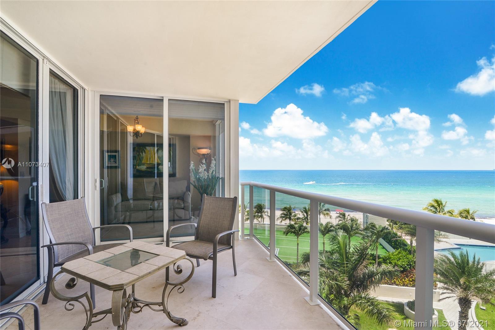 Ocean Two Condo in Sunny Isles Beach stunning 2 bedroom/2.5 bath + den unit with breathtaking ocean