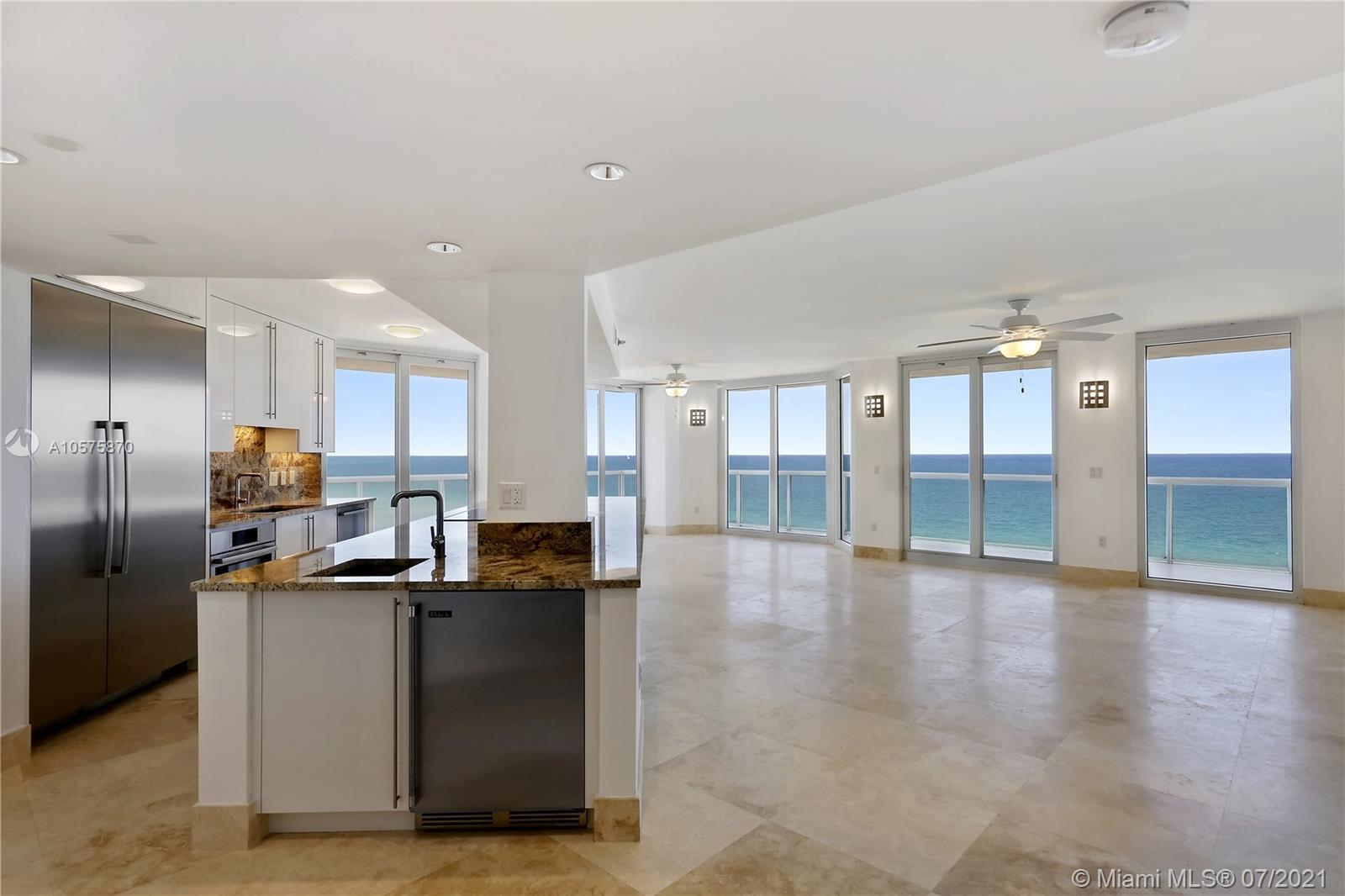 Magnificent 2BR/2.5BA split floor plan with panoramic, direct ocean views! Every inch of this 1,609S