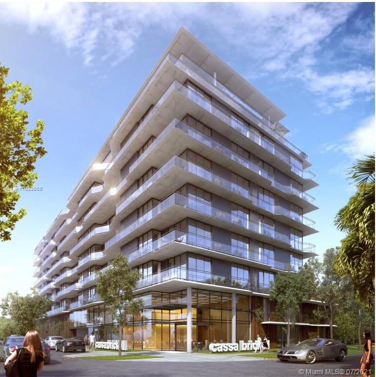 Cassa Brickell is new modern 10 story boutique building in the Brickell area with only 81 residences