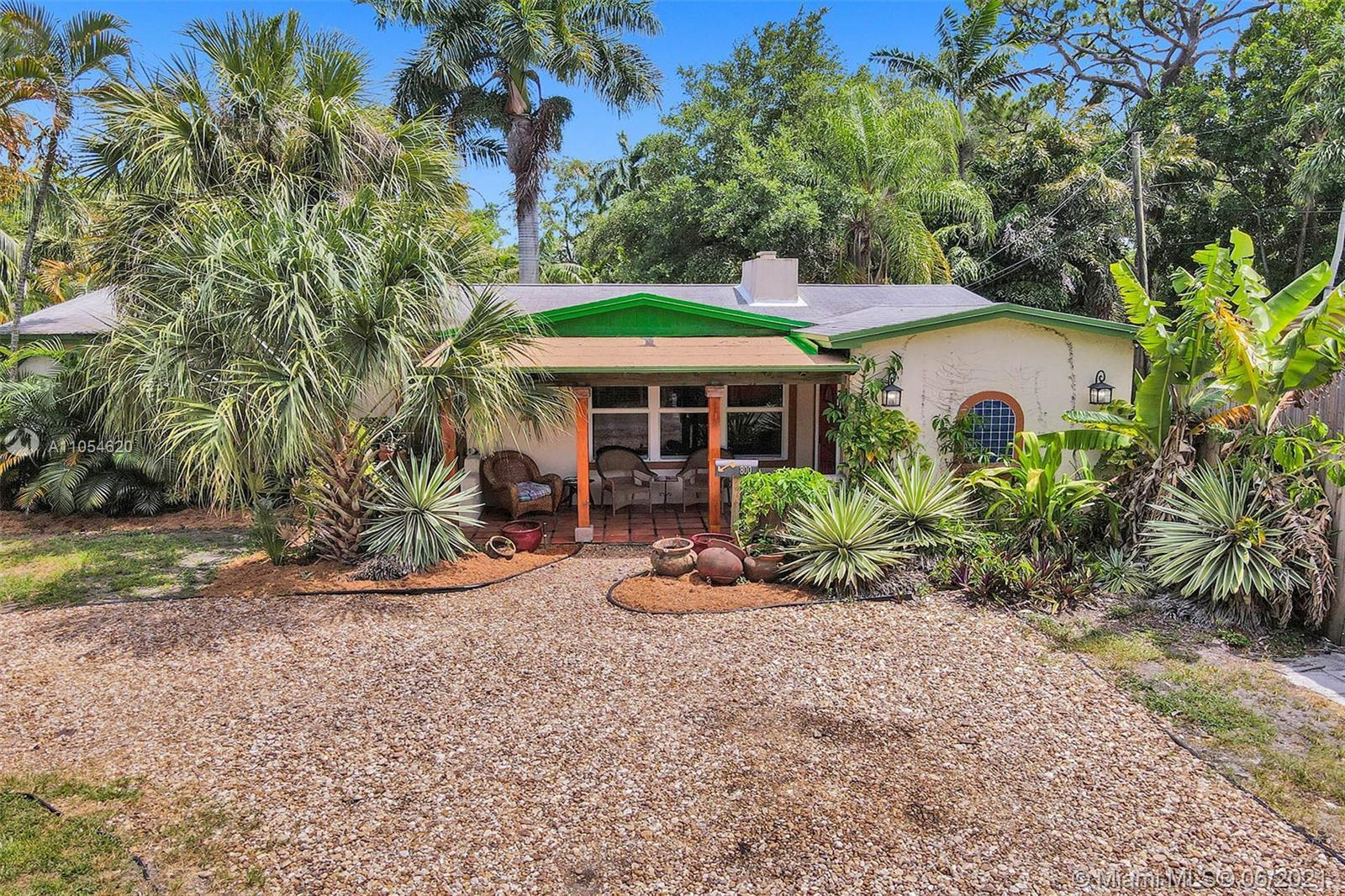 We are in Ft. Lauderdale's most charming neighborhood, Sailboat Bend! Situated on a corner lot, this