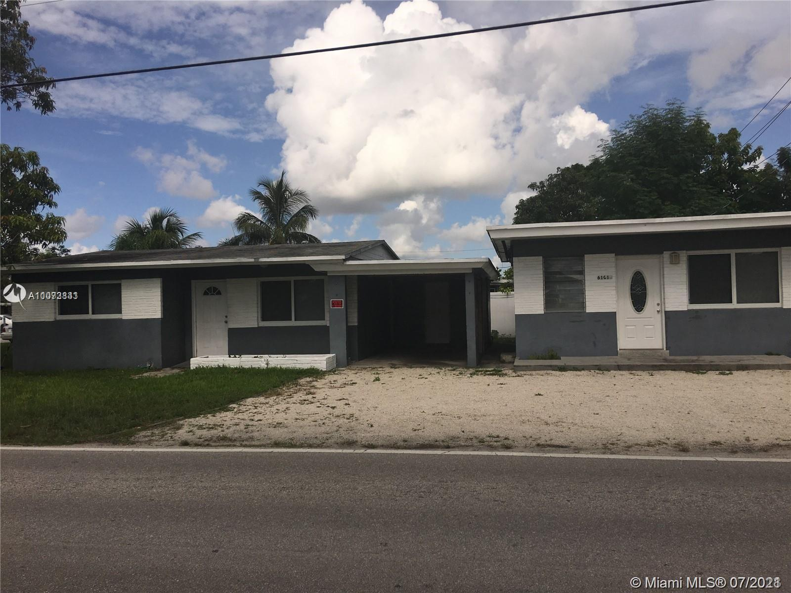 Talk about a prime location! Live in one unit and rent the other! Multi family home located in a cor