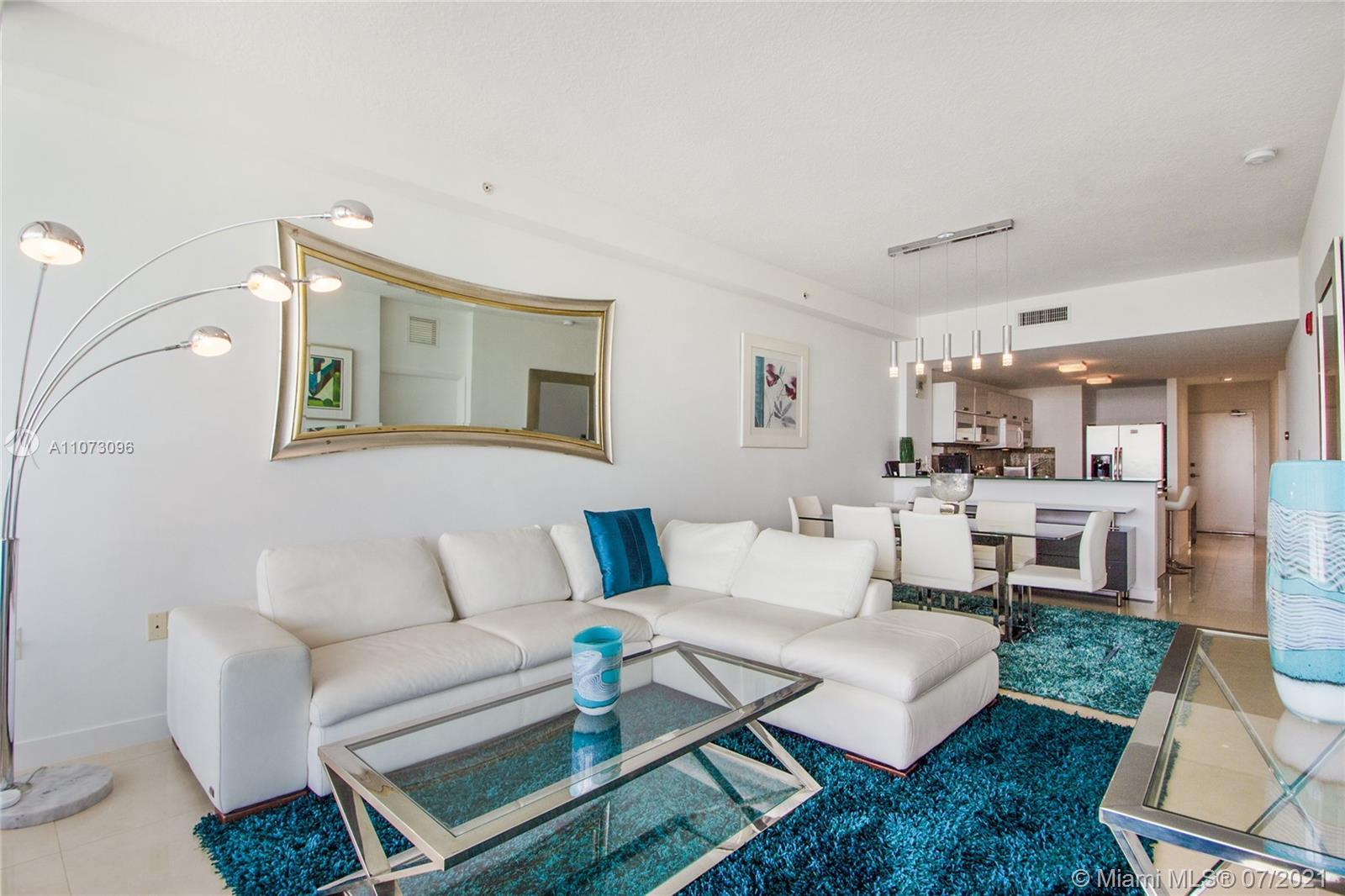 UNIT WILL SELL FAST!!! BEST LINE 2/2 + DEN AT THE REGATTA MIAMI BEACH. UNIT IS BEING SOLD FURNISHED