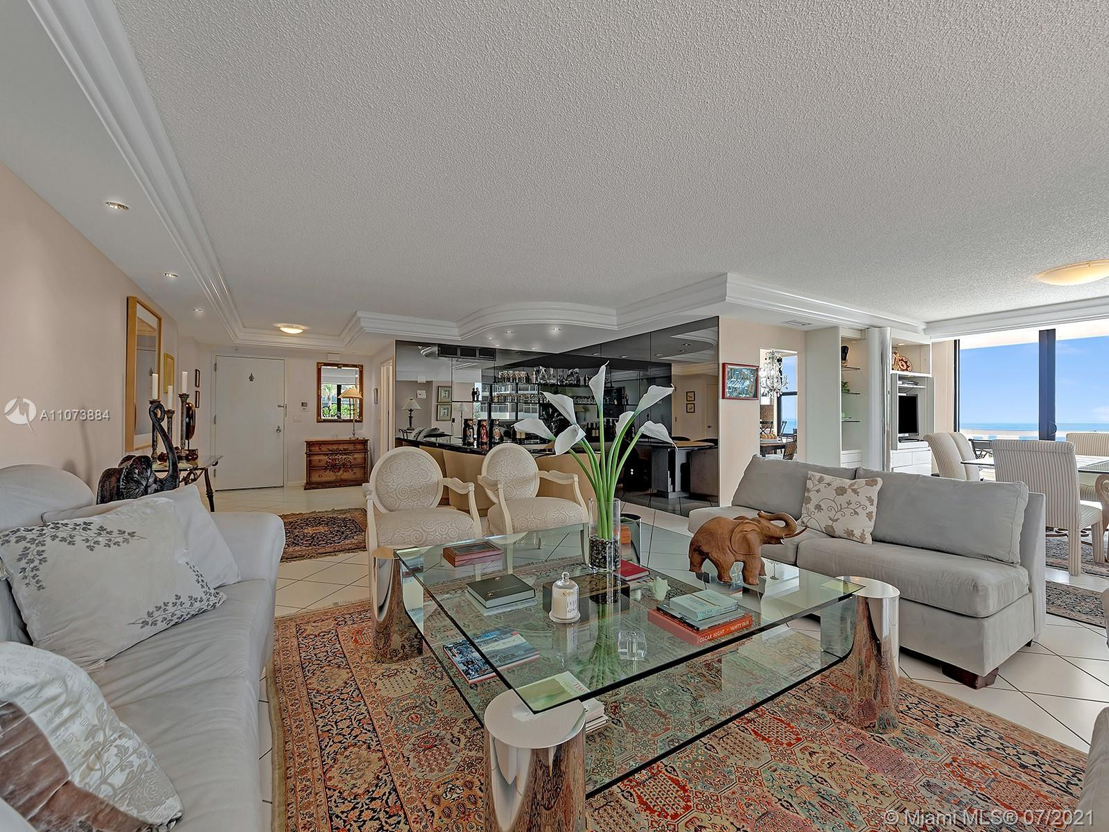 LARGE Corner DIRECT Ocean Front residence with stunning Direct Ocean views conveniently on the 6th f
