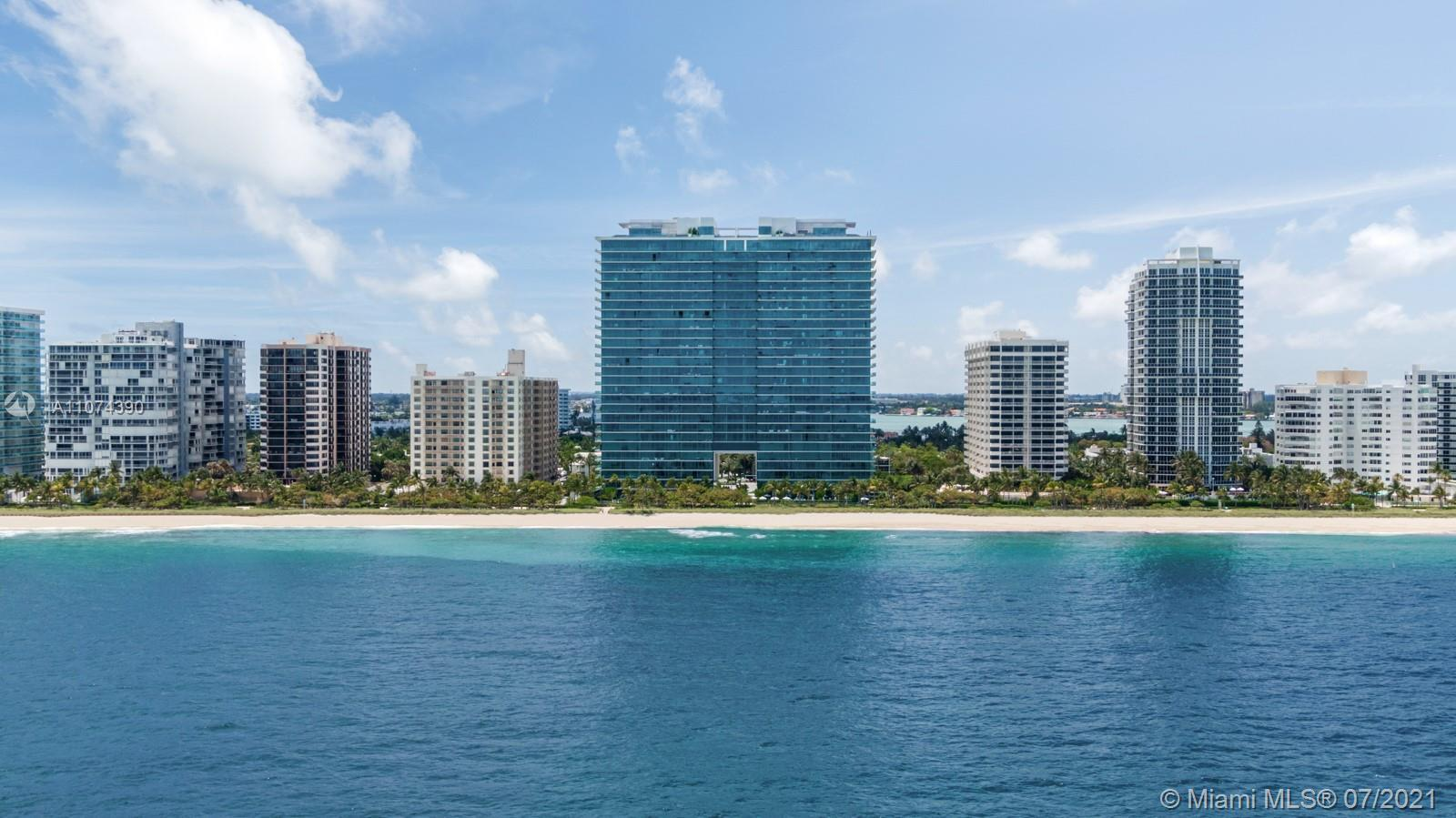 Spectacular fully furnished 3 bed/4.5 bath residence in Oceana Bal Harbour featuring top-of-the-line