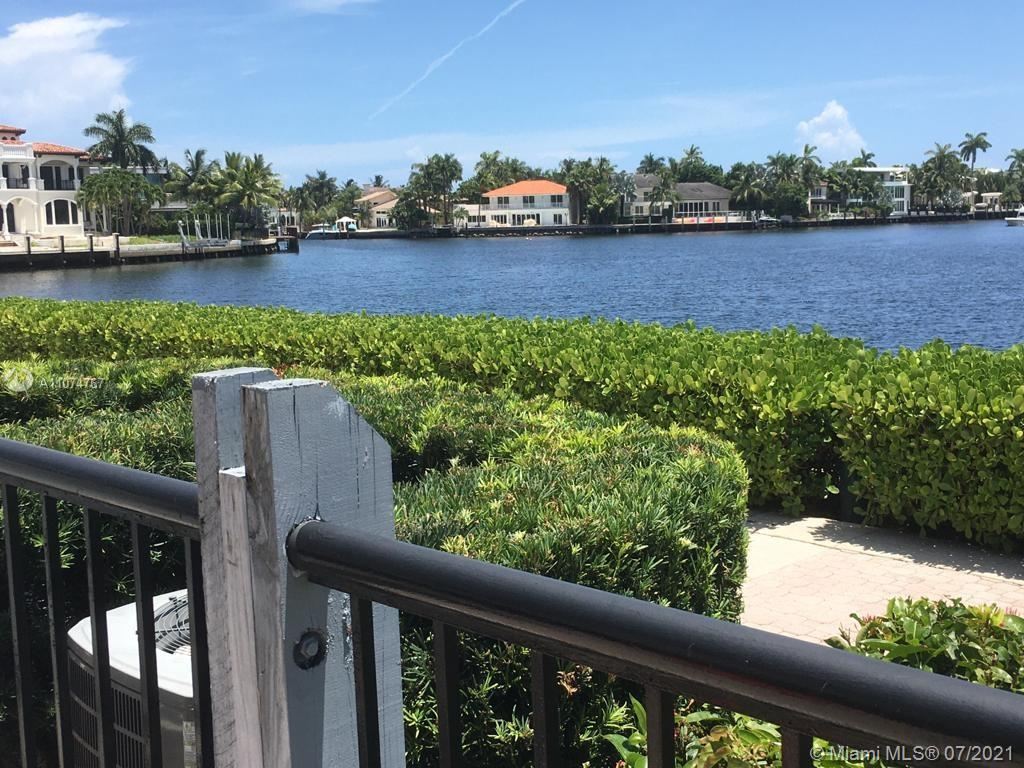 Waterfront/Intercoastal views 3/2.5 completely updated (with permits) 2 story townhouse in exclusive